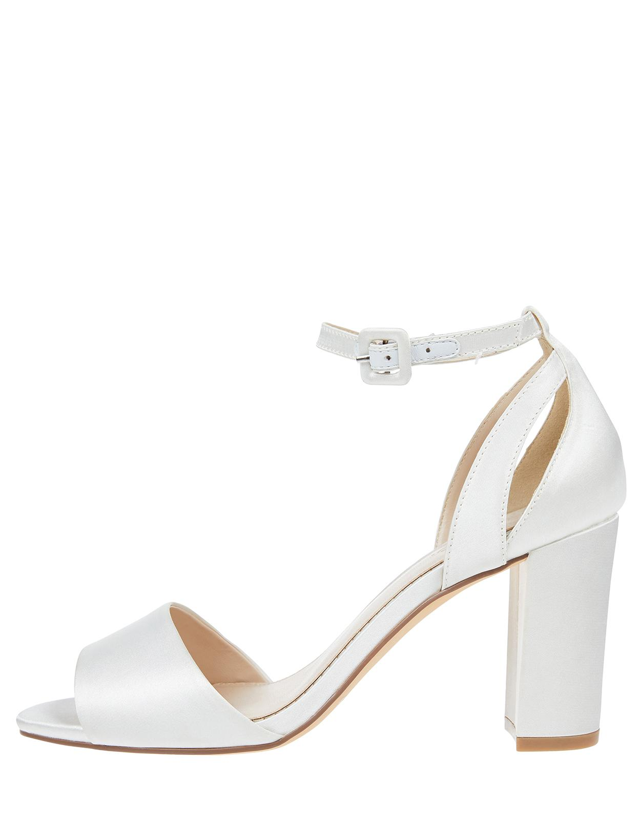 ec5122e35 Lyst - Monsoon Blossom Bridesmaid Sandals in White