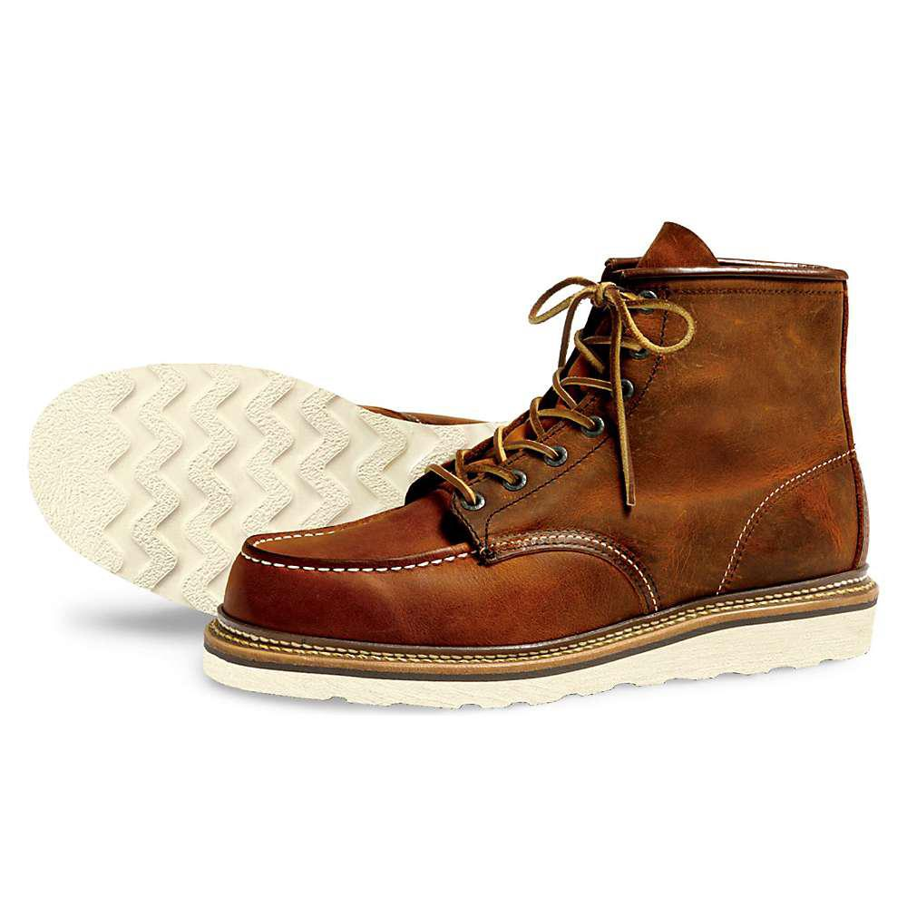 Men's Ankle Boots For Sale Red Wing Heritage Classic Moc 6 Men Inch Copper Rough Tough 1907 For Sale