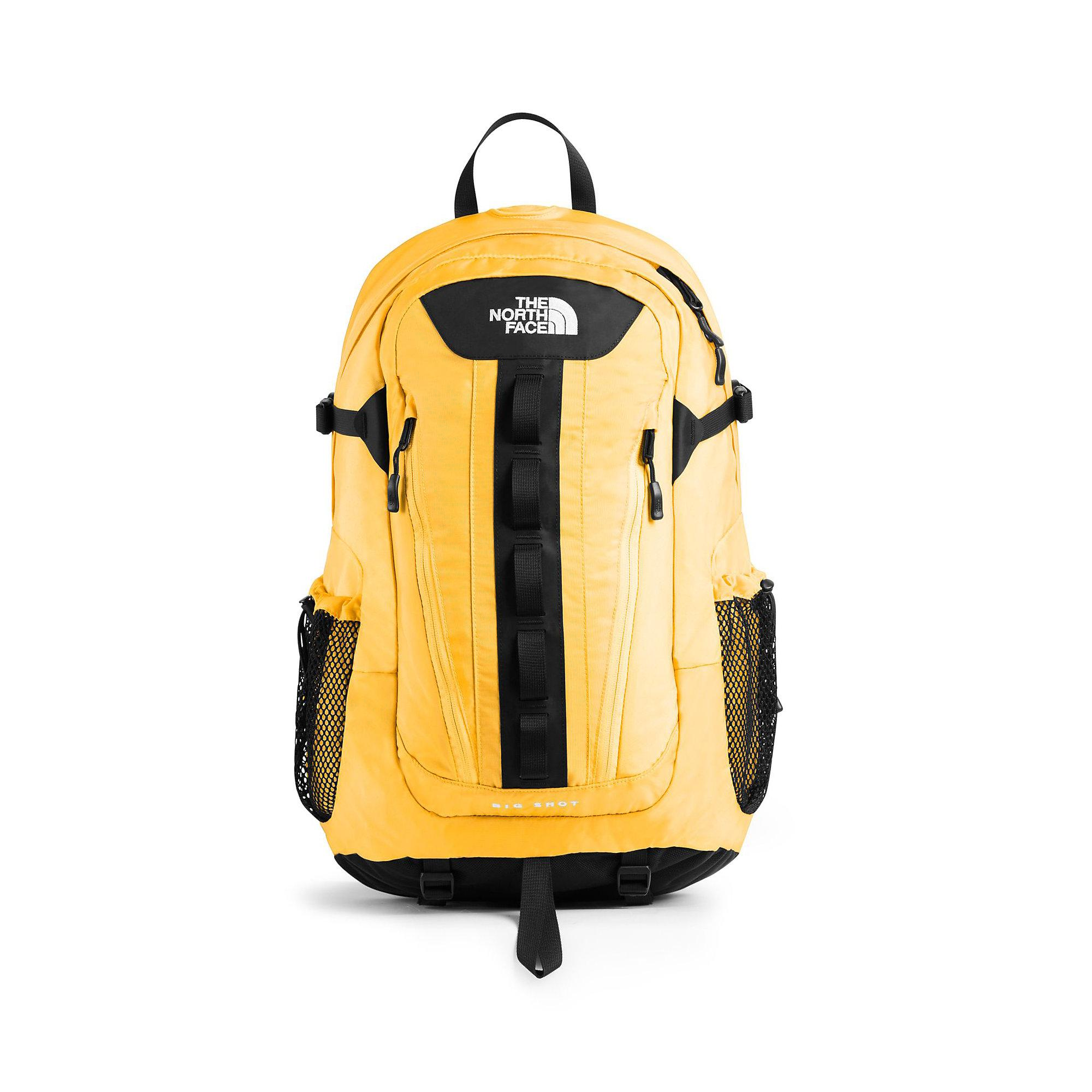 84f467bfc The North Face Big Shot Se Backpack in Yellow - Lyst