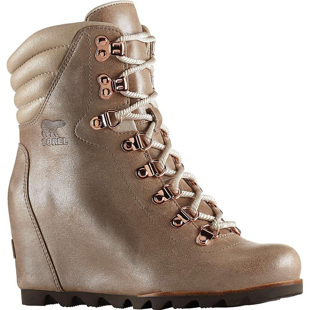 f114c601959 Lyst - Sorel Conquest Wedge Holiday Boot in Brown