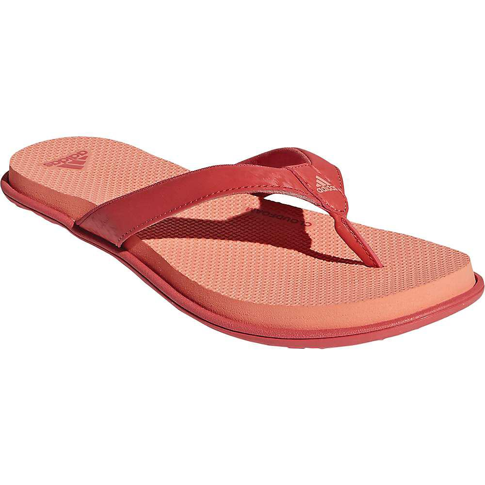 huge selection of 82187 09983 adidas. Womens Red Cloudfoam One Y Sandal