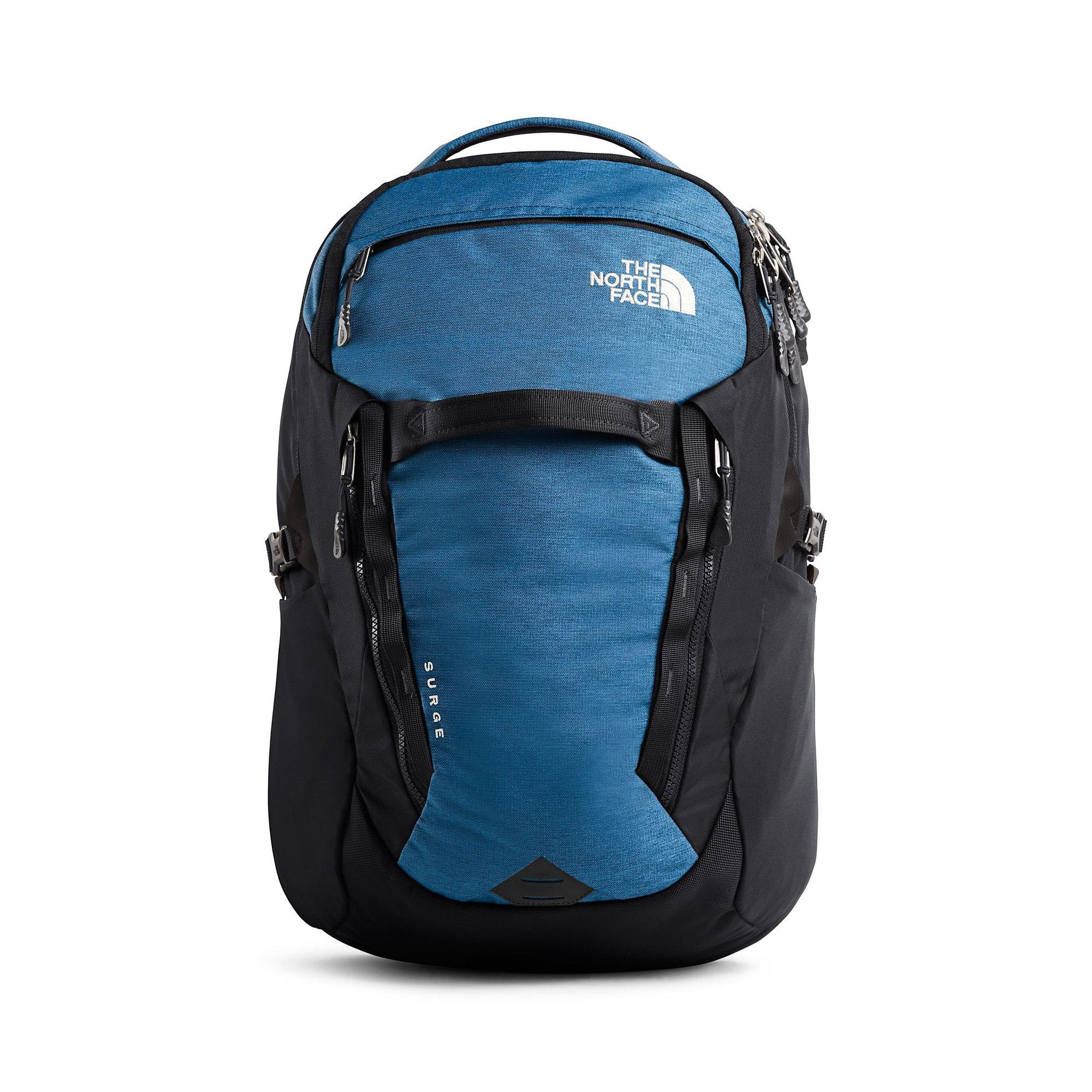18ed23aac The North Face Surge Backpack in Blue - Lyst