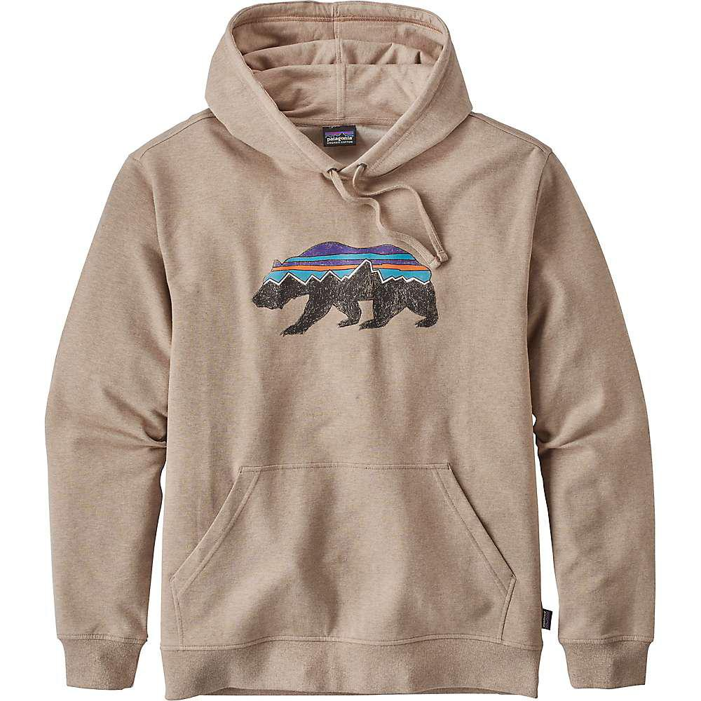 1b35bc8d71844 Lyst - Patagonia Fitz Roy Bear Midweight Hoody in Natural for Men
