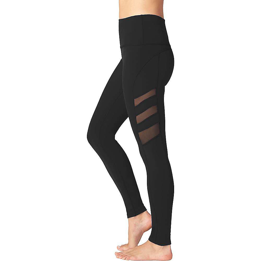 0335d13b7a Beyond Yoga - Black Triple Mesh High Waist Long Legging - Lyst. View  fullscreen