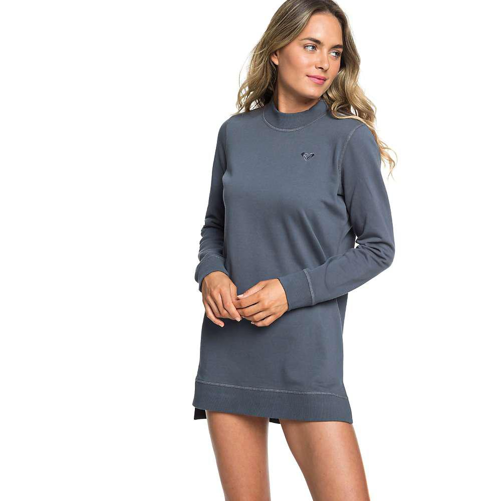 33fc3cc2c450 Lyst - Roxy Suns Spinning Fleece Dress in Blue