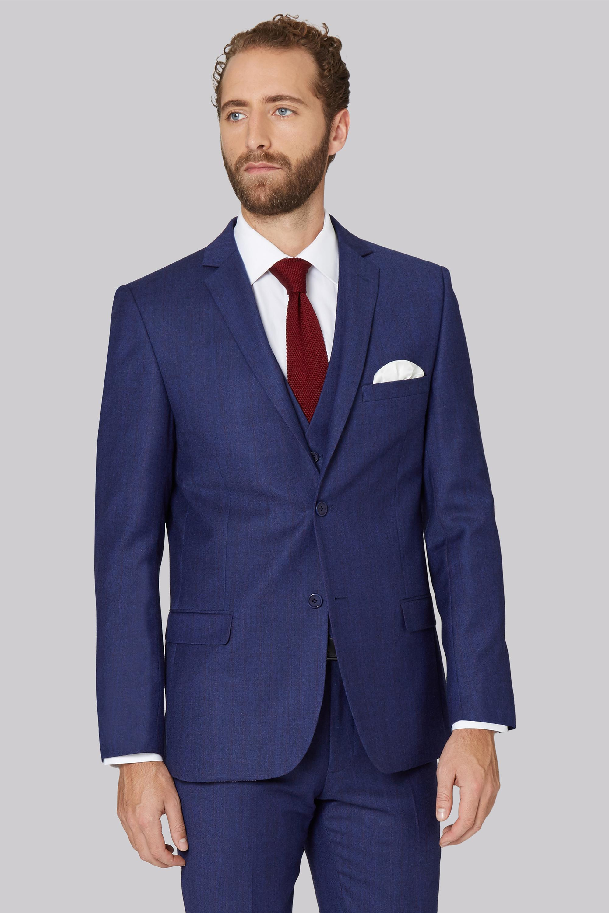 Lyst Ted Baker Tailored Fit Blue With Violet Check Suit