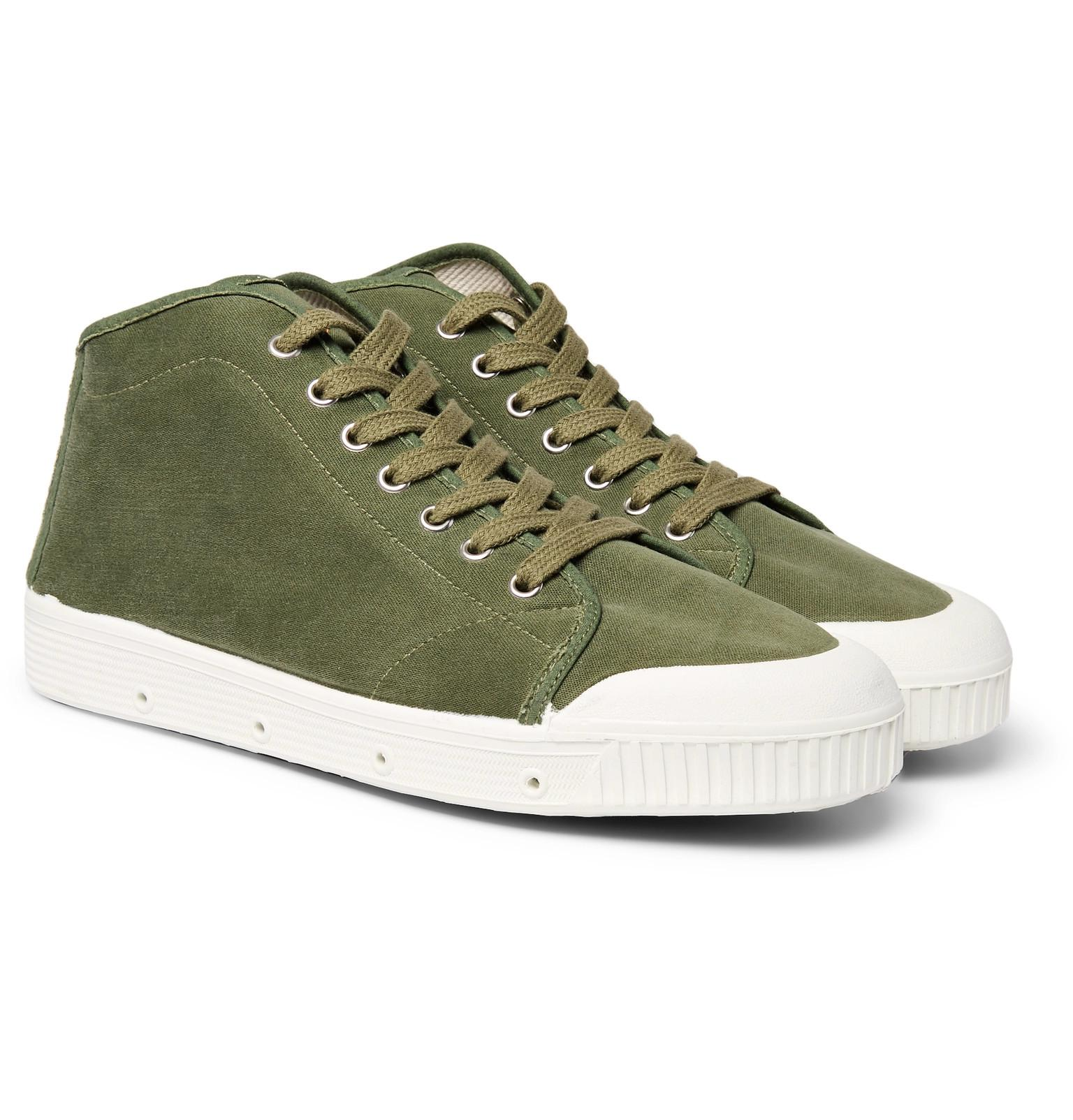34ba0f6944b9c1 Canvas Lyst Officine Generale In Top Court High Spring Sneakers xpRIUpT