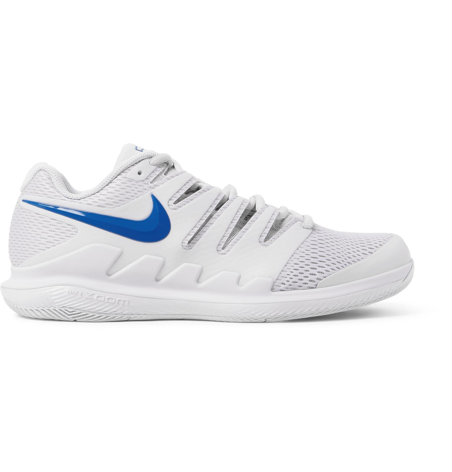 best loved cc601 ebbfb Nike. Men s White Air Zoom Vapor X Rubber And Mesh Tennis Sneakers