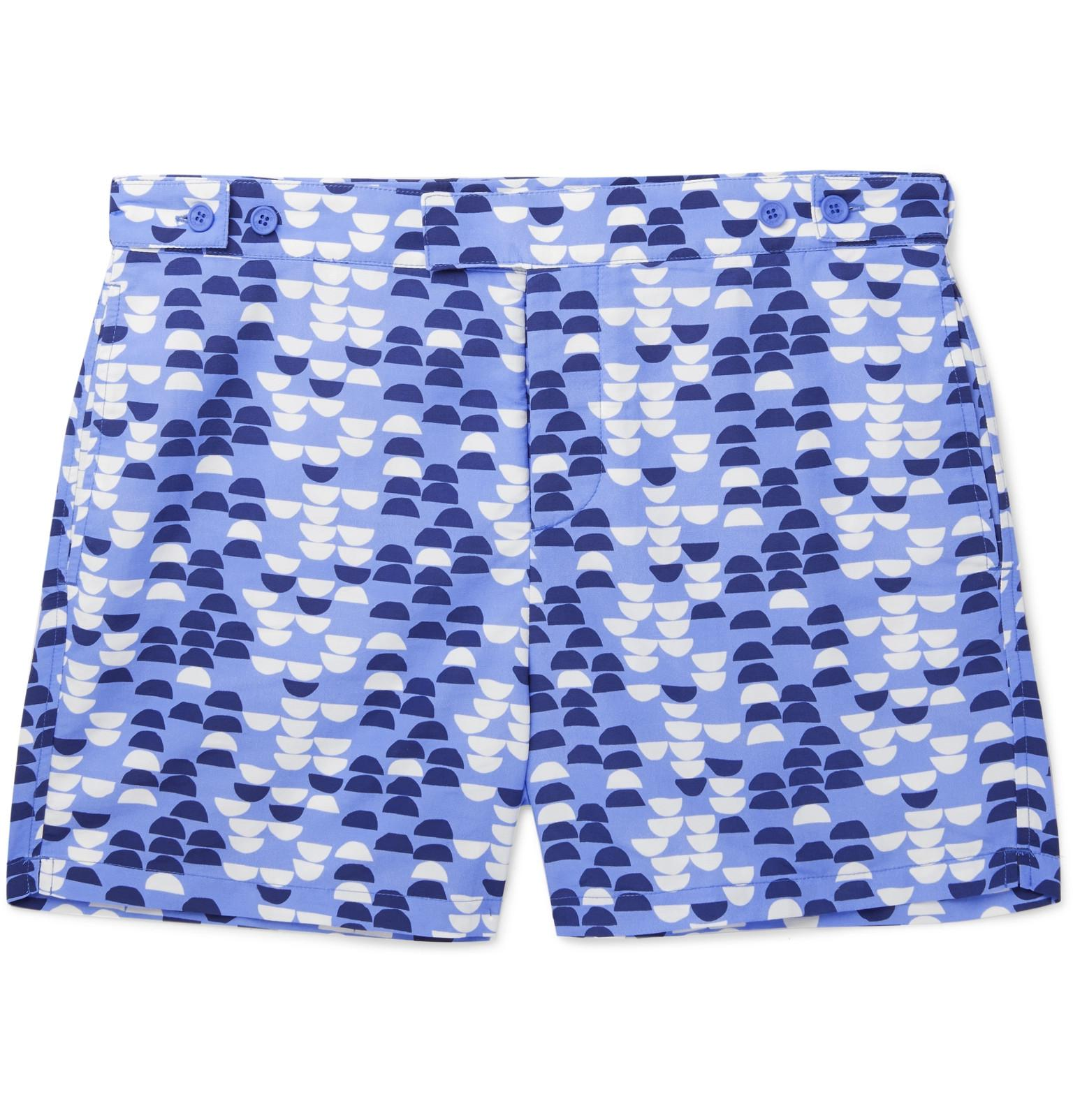 Shop Online Outlet For Sale Bossa Short-length Printed Swim Shorts Frescobol Carioca Latest Cheap Online Ebay Cheap Price Cheap Outlet rO54c1Rsv