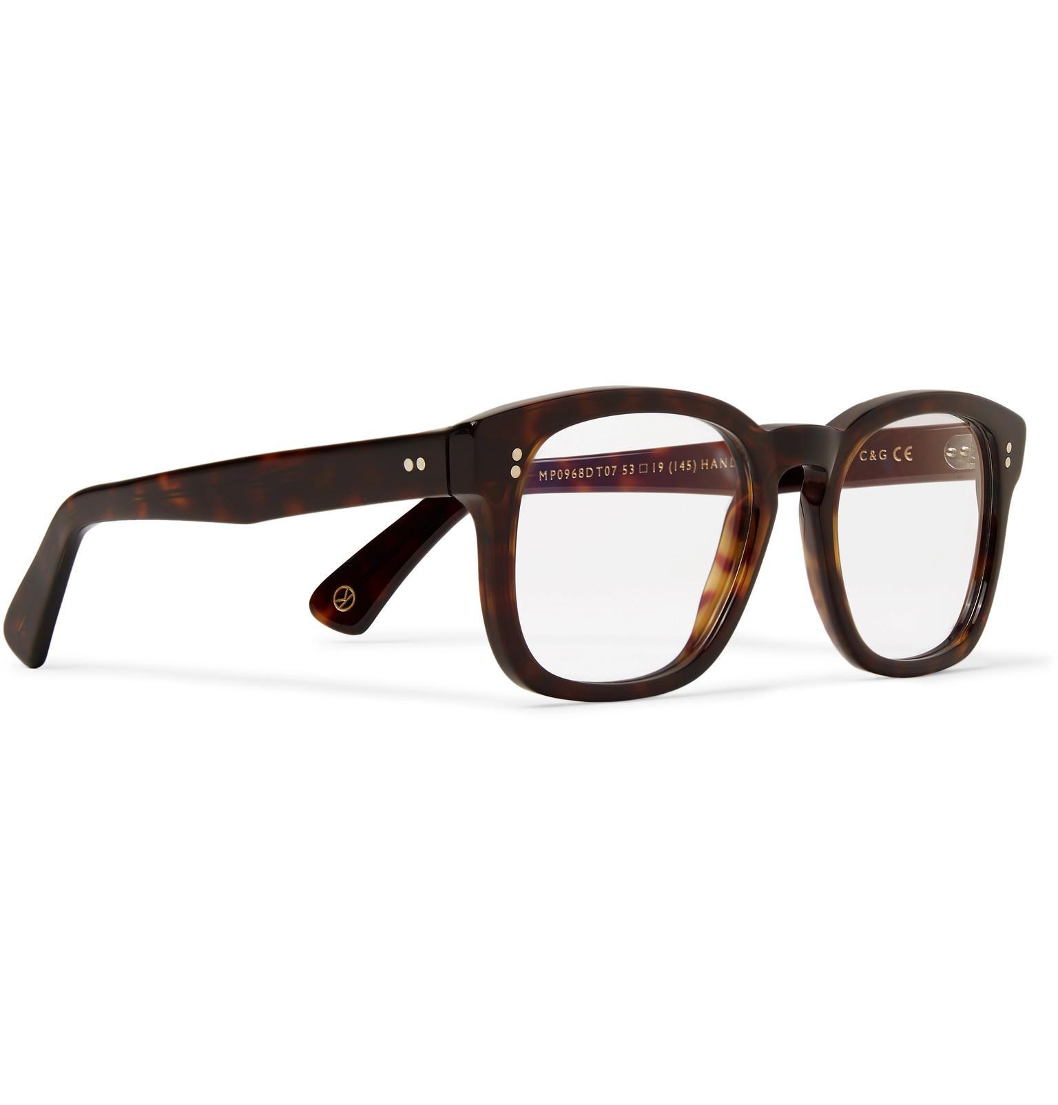 62cb0671f0 Kingsman - Brown + Cutler And Gross D-frame Tortoiseshell Acetate Optical  Glasses for Men. View fullscreen