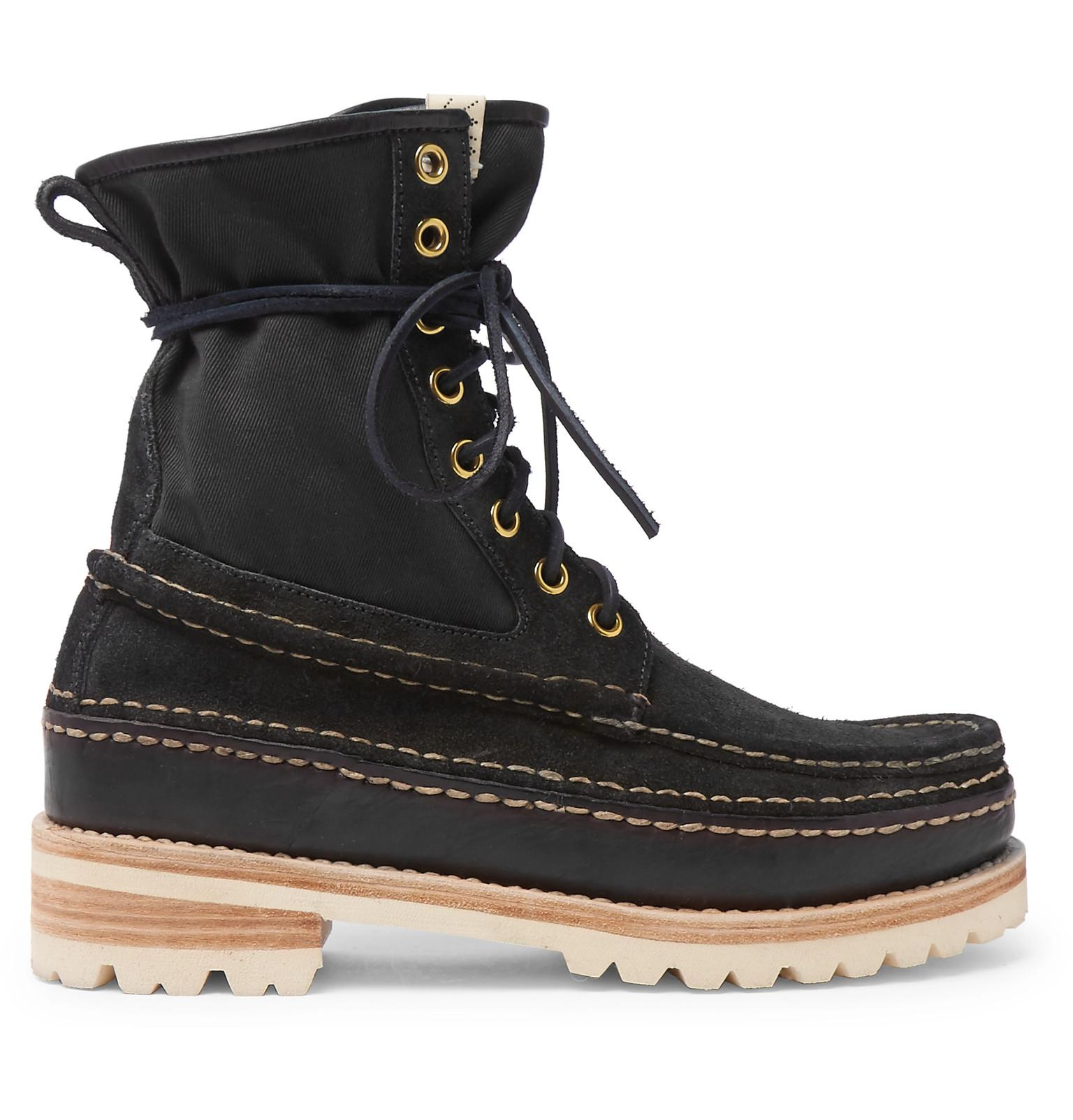 33bb1a857 visvim-black-Grizzly-Panelled-Suede-Twill-And-Rubber-Boots.jpeg