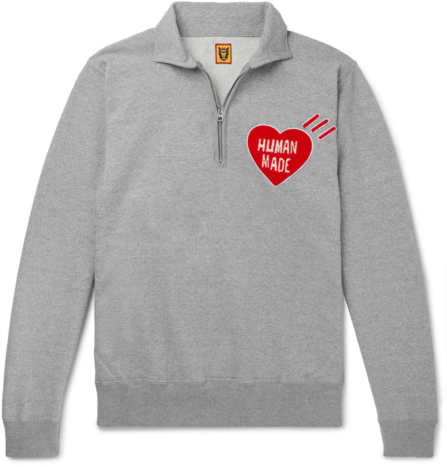 351df663b429a Human Made - Gray Zip Sweatshirt for Men - Lyst. View fullscreen