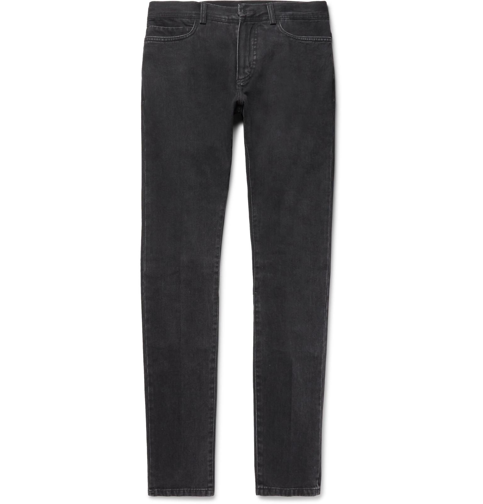 With Paypal Cheap Price Slim-fit Washed-denim Jeans Berluti Shopping Online Original Buy Cheap Find Great 9ZZx1FKhR