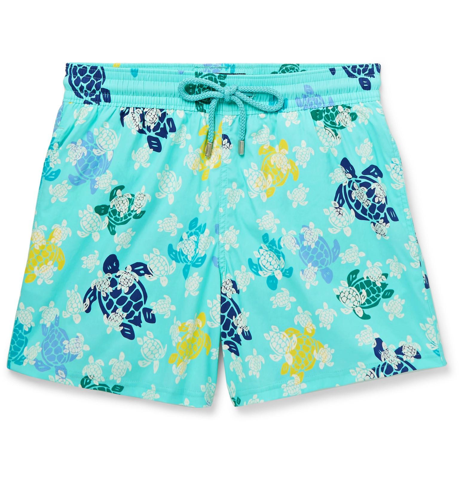 6efb69bb91faa Vilebrequin Moorise Mid-length Glow-in-the-dark Printed Swim Shorts ...