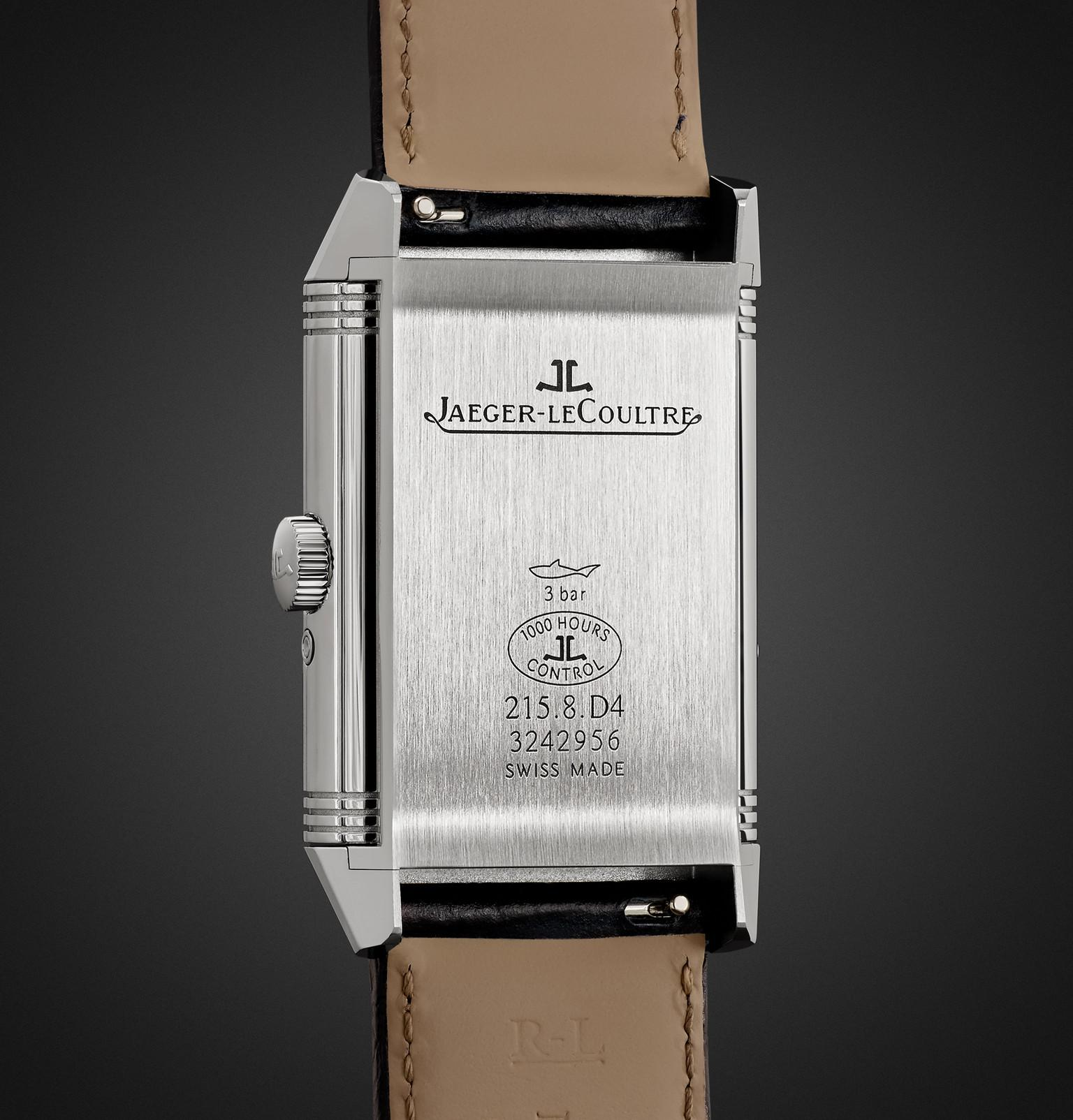 24060830b2b Jaeger-lecoultre - Metallic Reverso Classic Large Duoface 28mm Stainless  Steel And Leather Watch for. View fullscreen