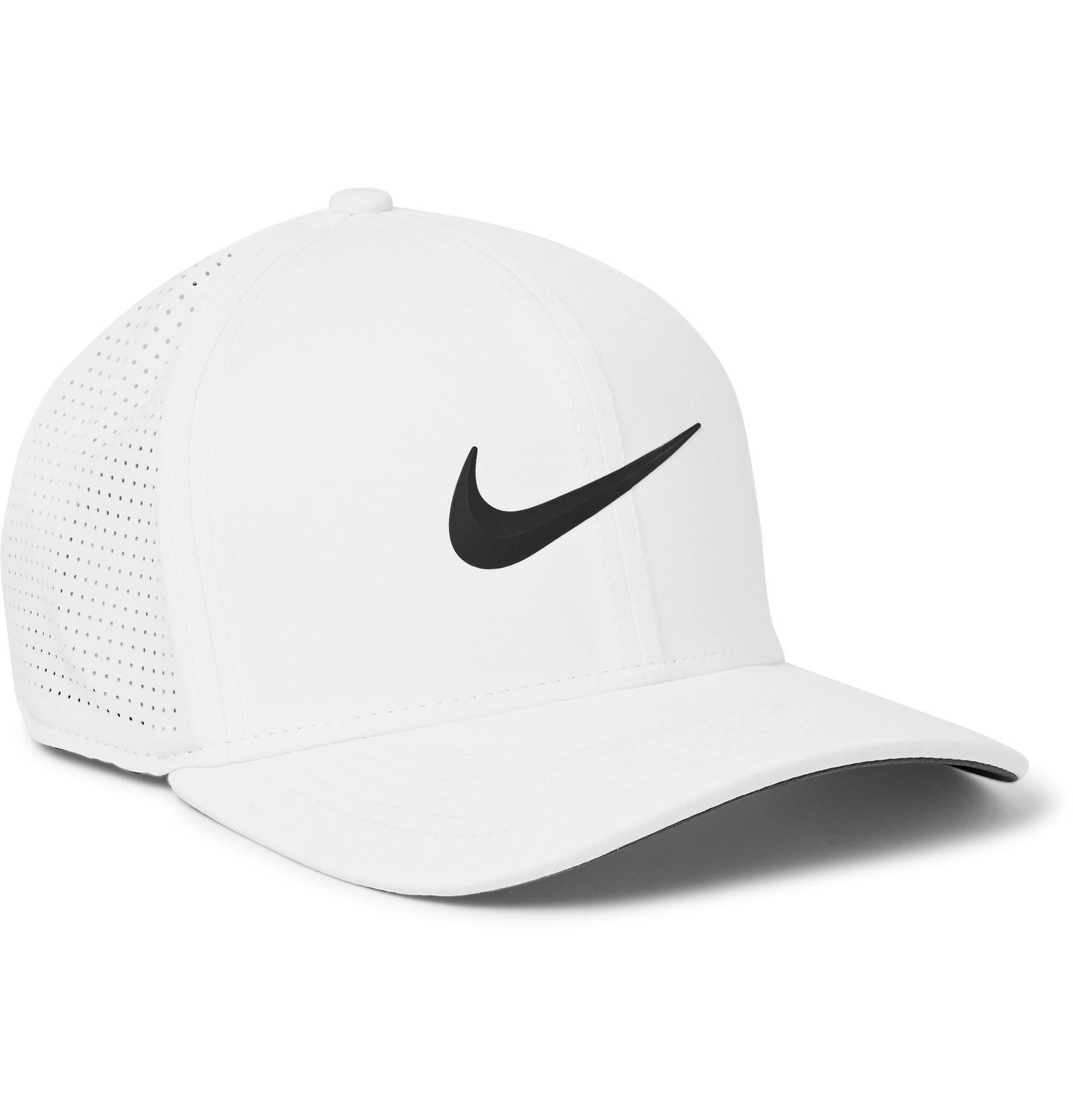04d073cdd65 Lyst - Nike Aerobill Classic 99 Perforated Dri-fit Golf Cap in White ...