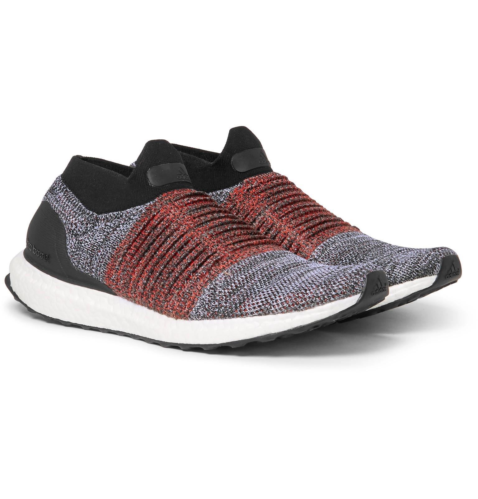 Adidas Originals ultra impulso primeknit zapatilla en negro para hombres Lyst