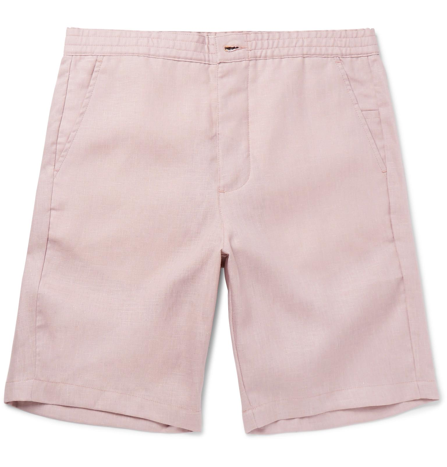 Linen Drawstring Shorts Oliver Spencer