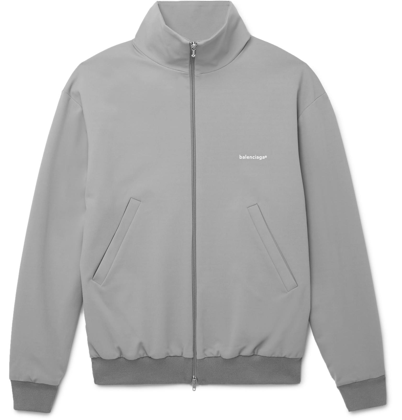 Outlet Real Outlet Fast Delivery Jersey Track Jacket Balenciaga Cheap Price For Sale Sale Fake hJlgD