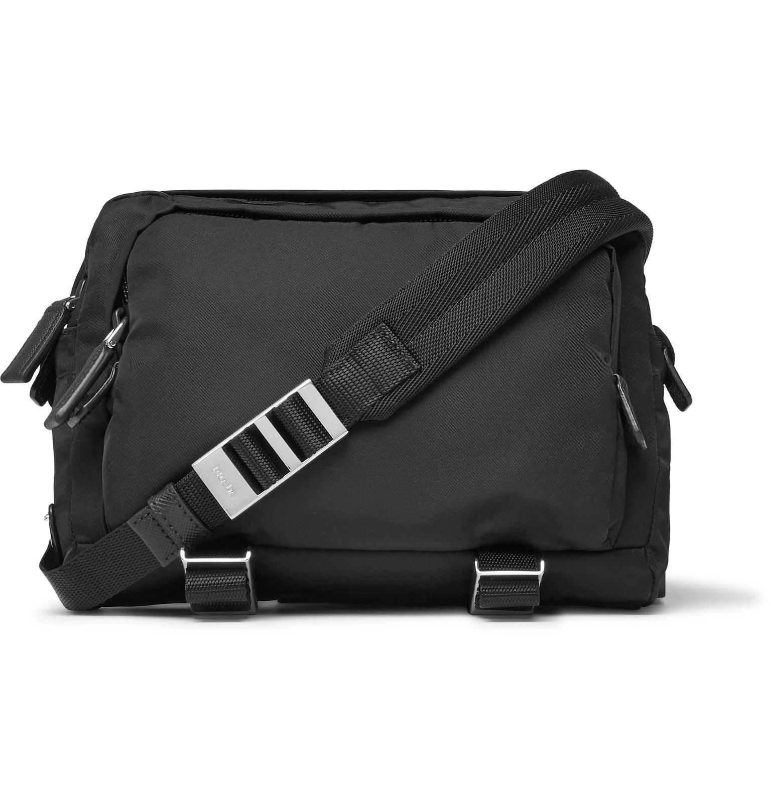 825177f5e71c21 ... norway prada nylon camera bag in black for men lyst a5bab 53104