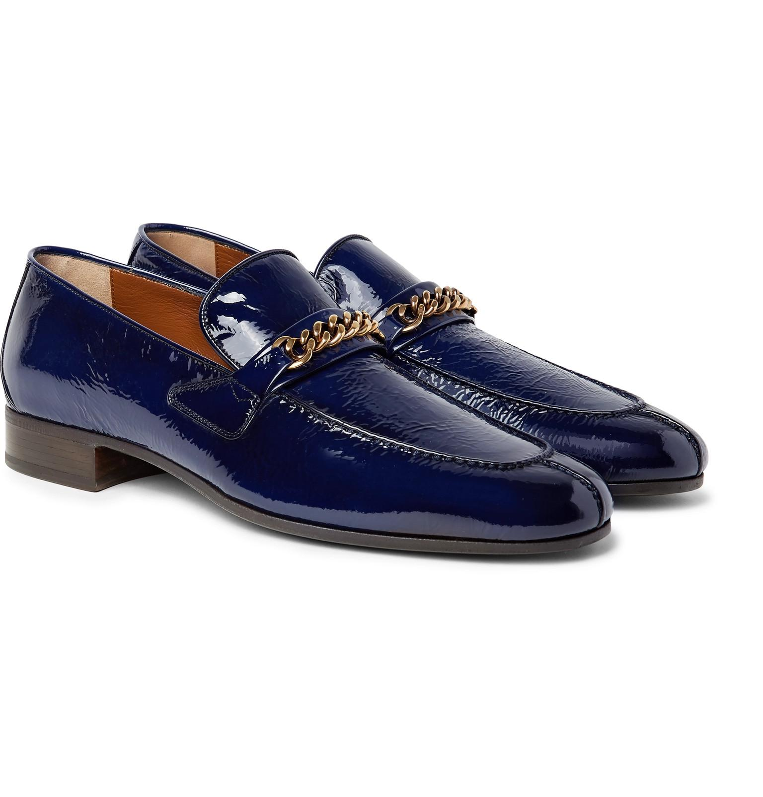 TOM FORD Leeds Chain-Trimmed Velvet Loafers cheap perfect clearance get authentic cheap with mastercard j5B92fp