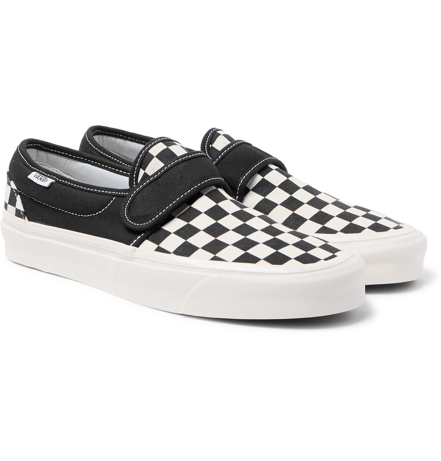 Vans Slip-on 47 V Dx Anaheim Factory Pack Sneakers in Black for Men ... a80ed6c9d