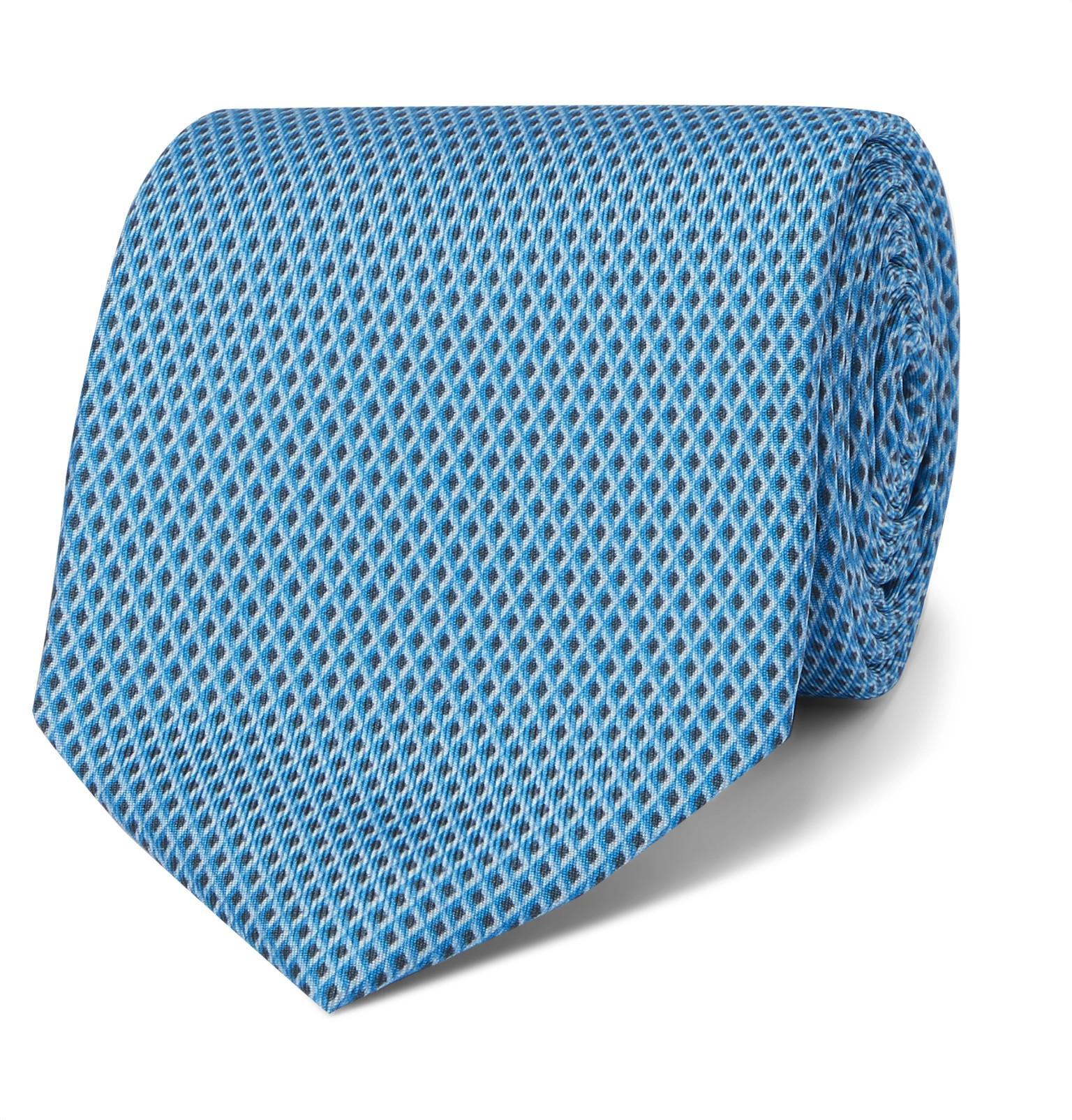 8cm Printed Mulberry Silk-jacquard Tie Dunhill Y1BoLsaoyK