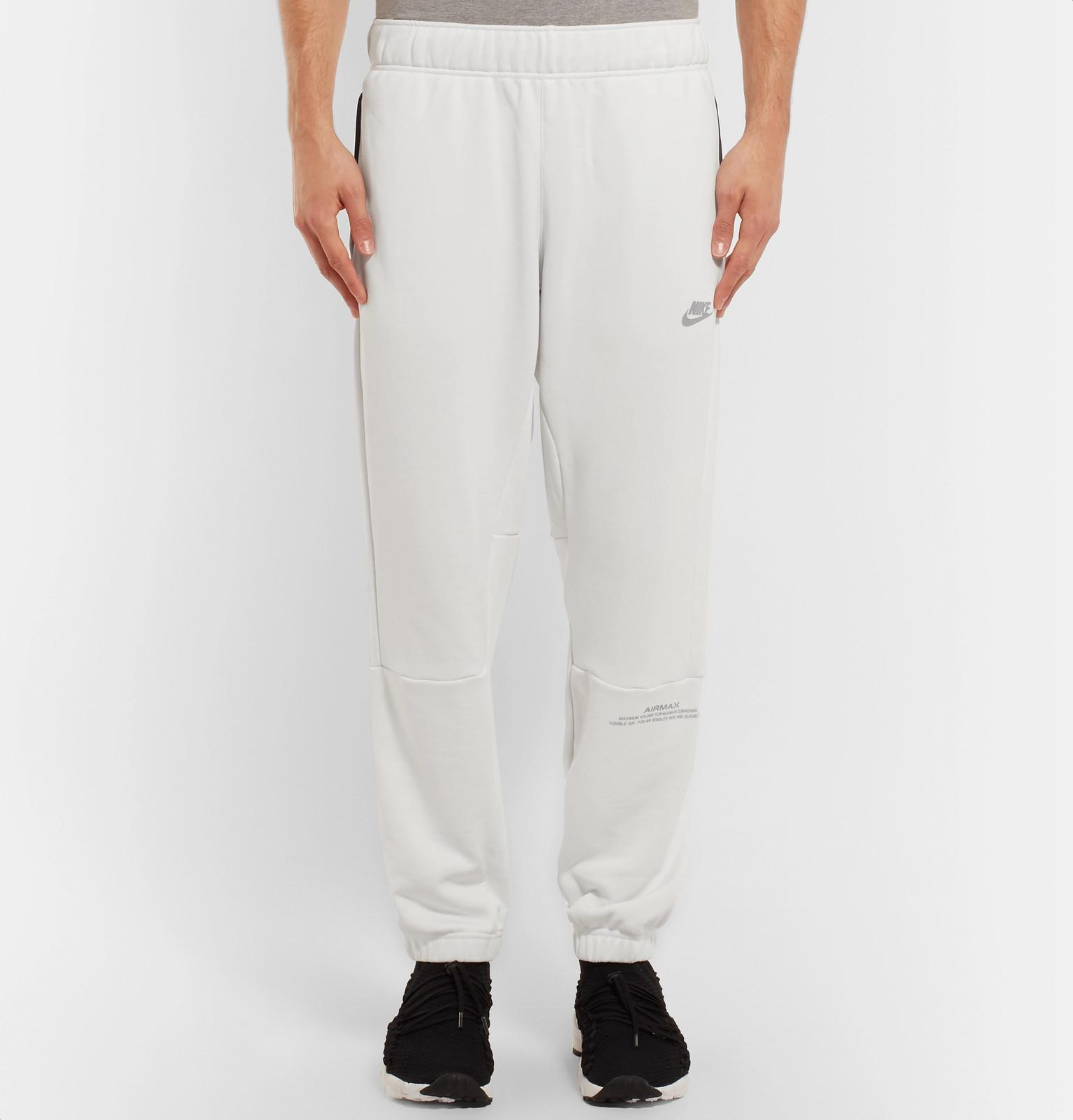 c29ba819be59 Nike Air Max Tapered Loopback Cotton-blend Jersey Sweatpants in ...