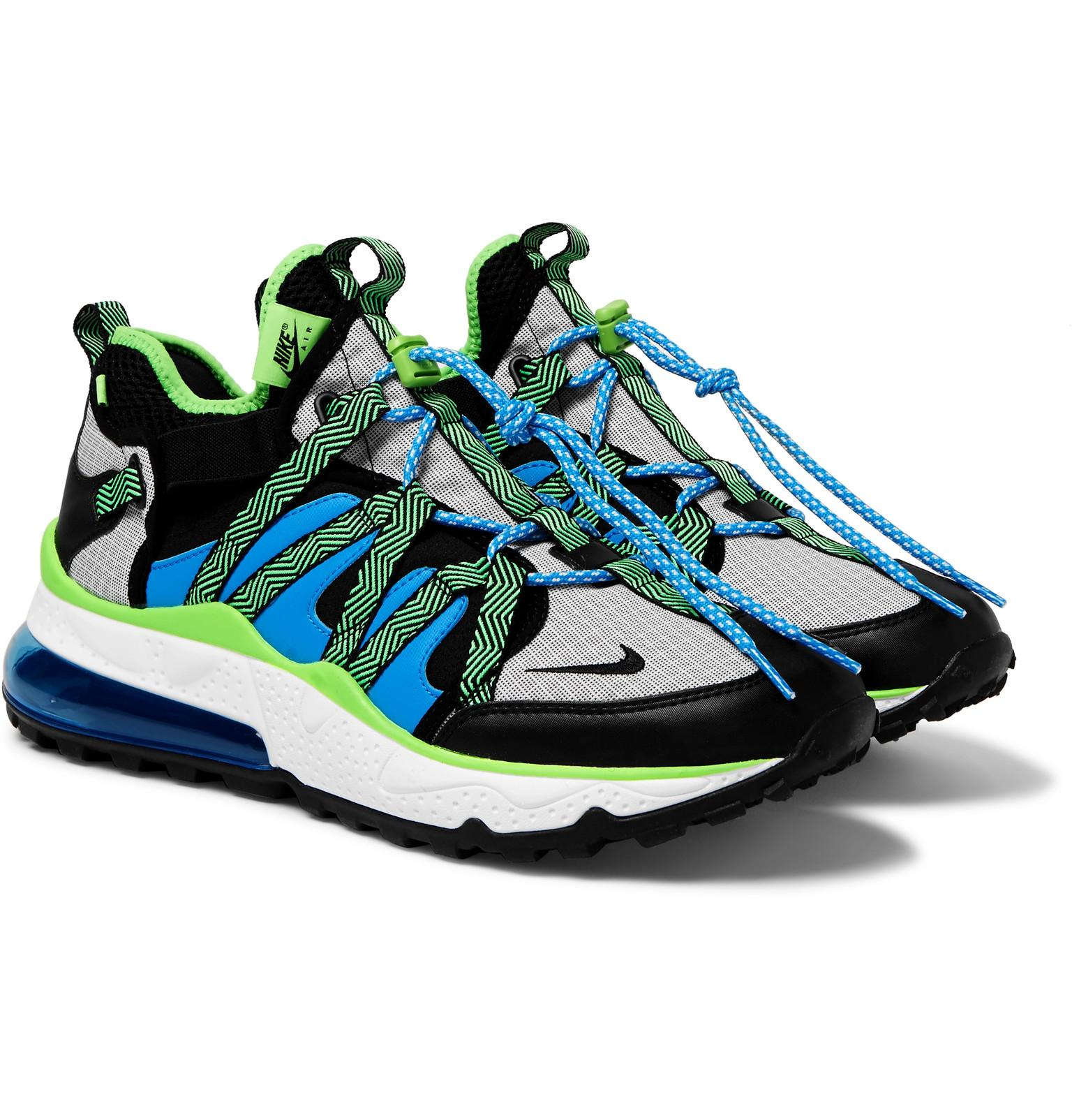 9b941e53245 Nike Air Max 270 Bowfin Mesh And Nylon Sneakers in Blue for Men ...