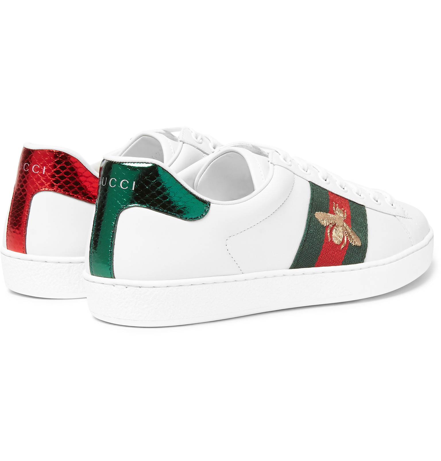 85146e3c264 Gucci Mens Sneakers White - Ontario Active School Travel
