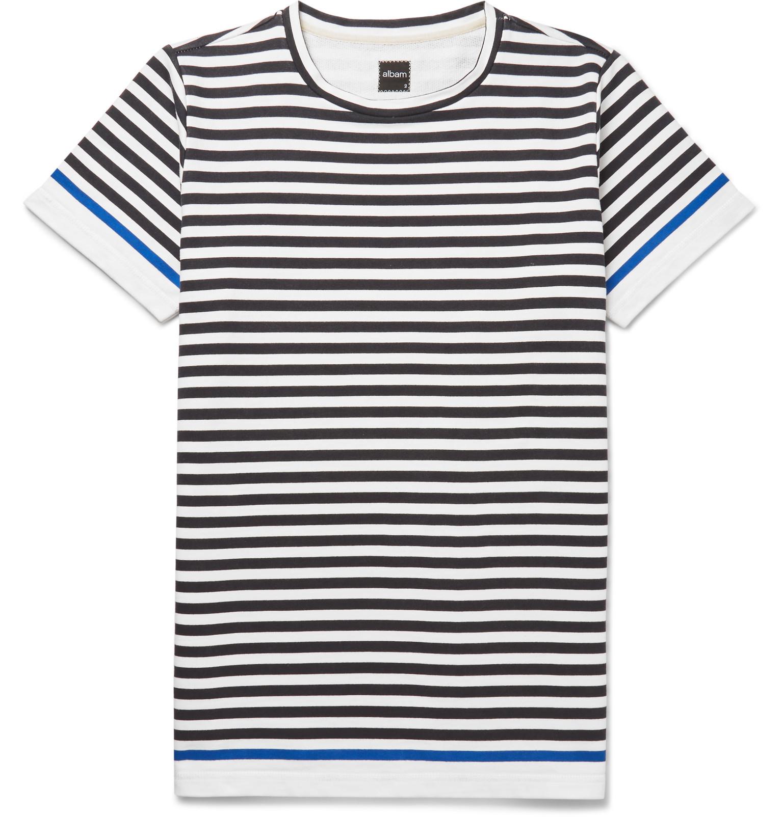 Nautical Striped Shirt Womens