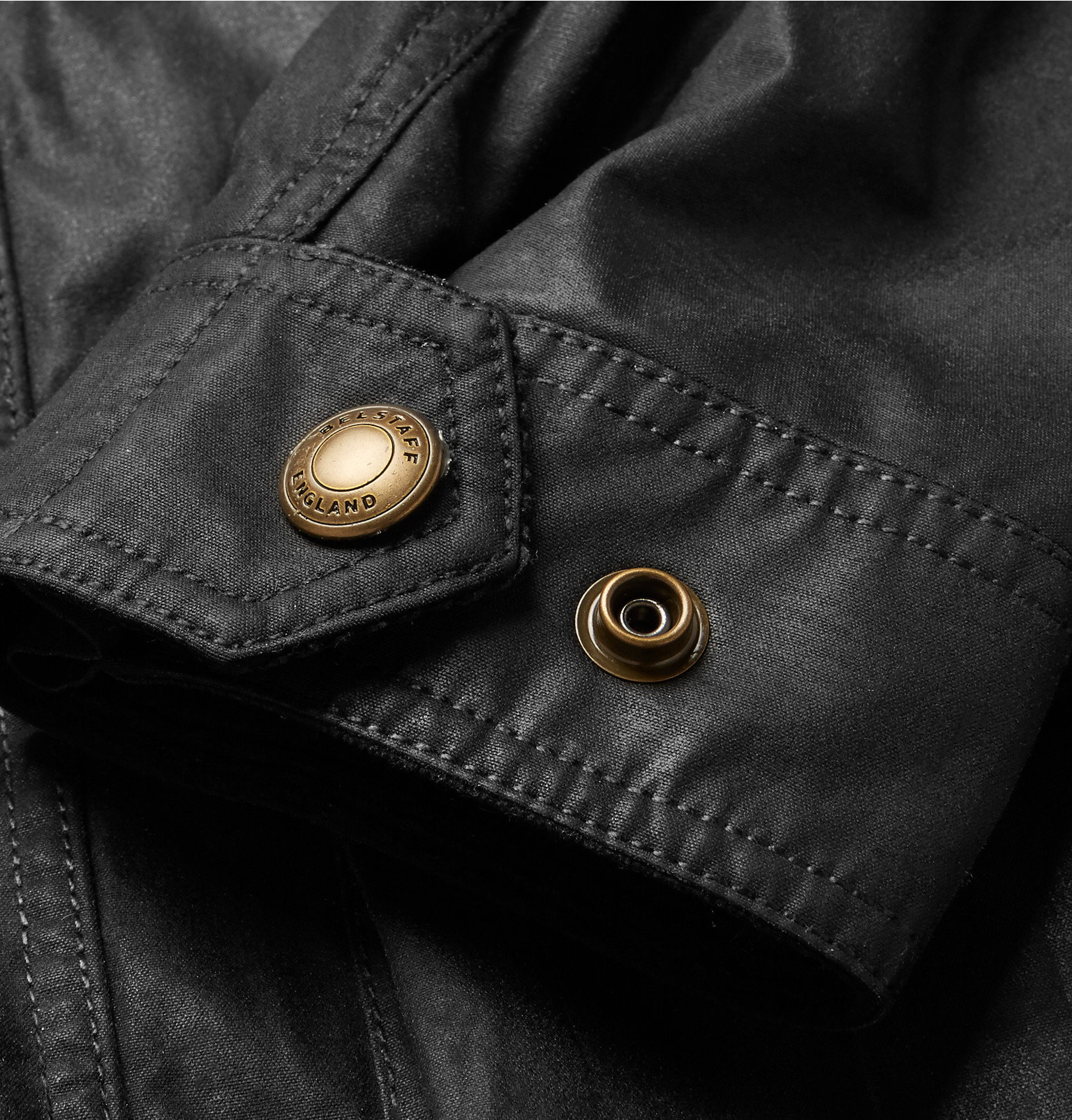 Belstaff Trialmaster Waxed-cotton Jacket in Black for Men ...