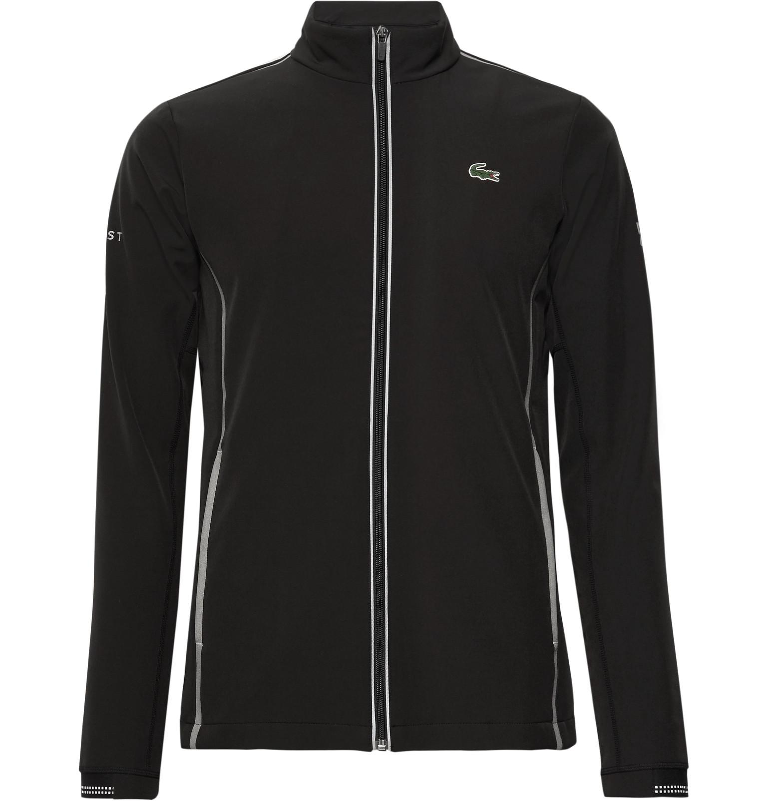 Novak Djokovic Stretch-jersey Zip-up Jacket Lacoste Cheap Sale Outlet Locations Fashionable Cheap Price Sale Eastbay aBzcr