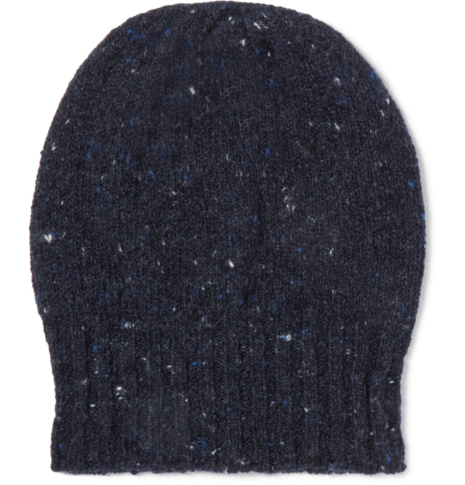 Donegal Wool And Cashmere-blend Beanie Anderson & Sheppard btZqTagqXe
