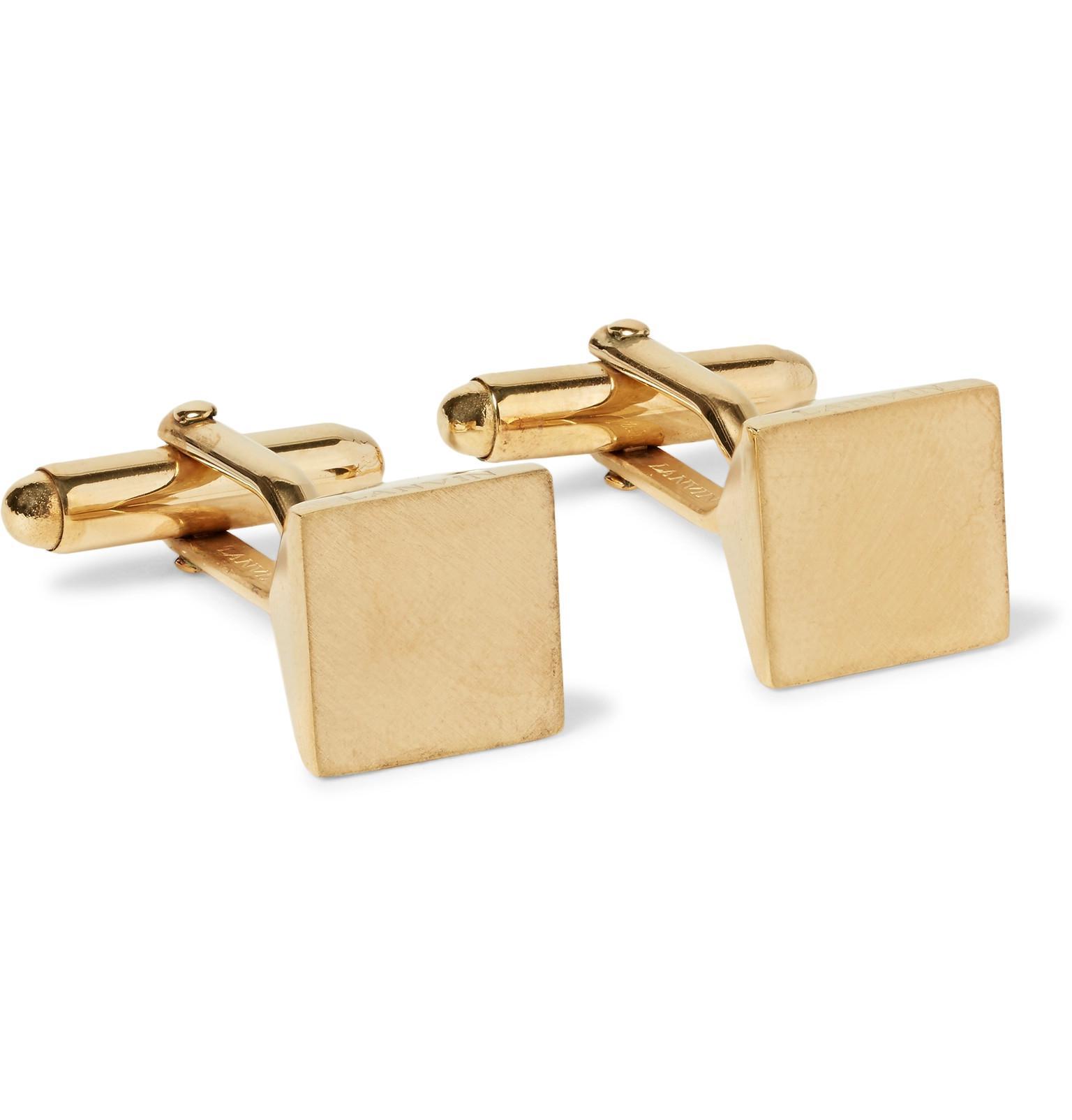 Gold-tone Cufflinks Lanvin SH4h5