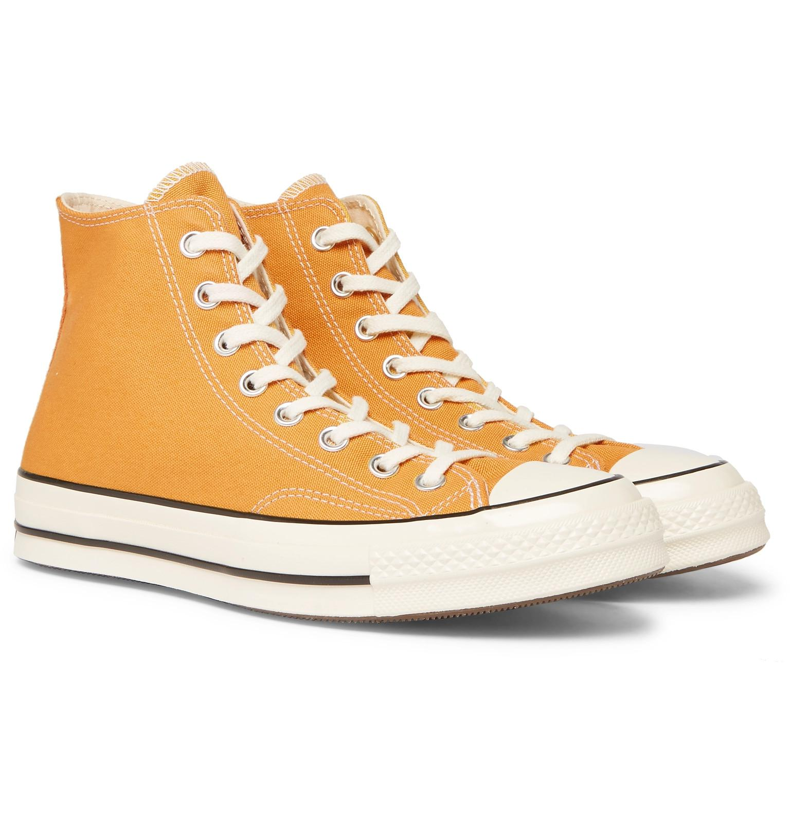 fea18ba9b13e3a Lyst - Converse Chuck Taylor 1970s Hi in Yellow for Men - Save 69%