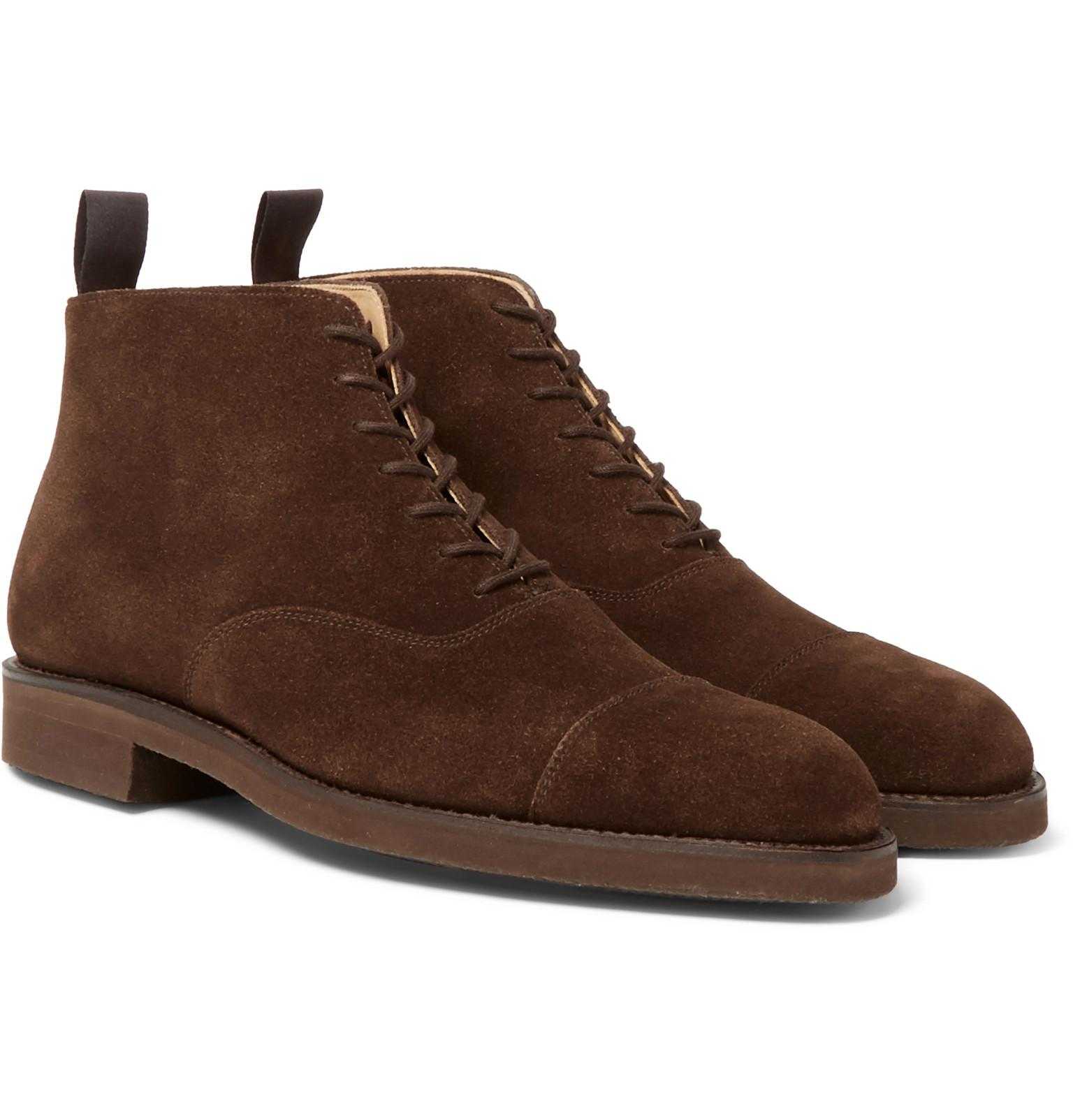 William Cap-toe Leather Boots George Cleverley 2018 New Cheap Price Sneakernews Cheap Price kUQEgCt