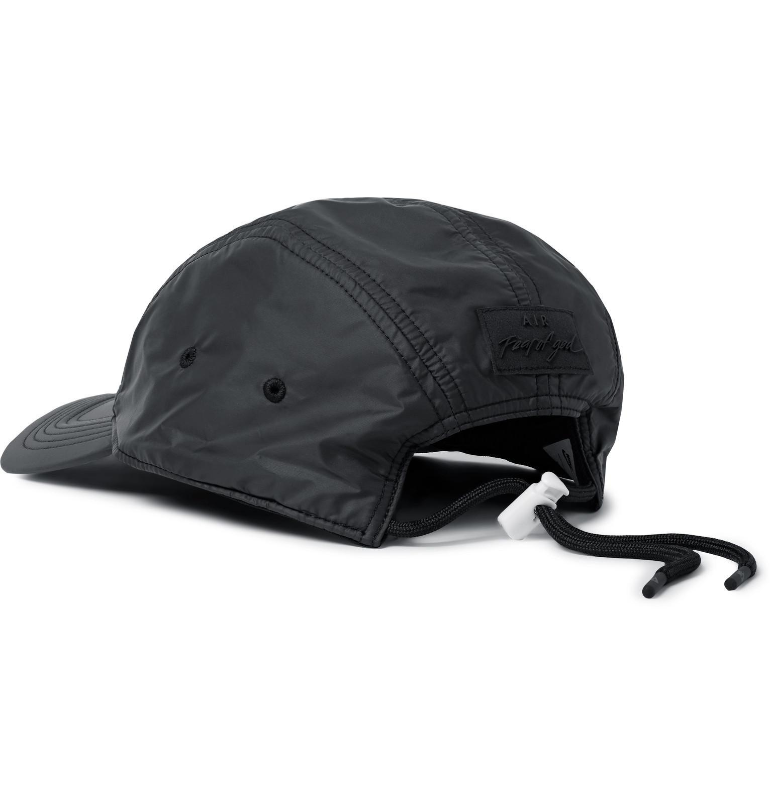 ea0280feaf4 Lyst - Nike + Fear Of God Aw84 Dri-fit Baseball Cap in Black for Men