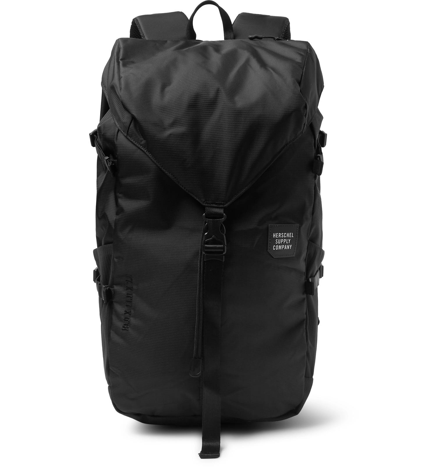 06dc65fd984e Lyst - Herschel Supply Co. Trail Barlow Tech Nylon Backpack in Black ...