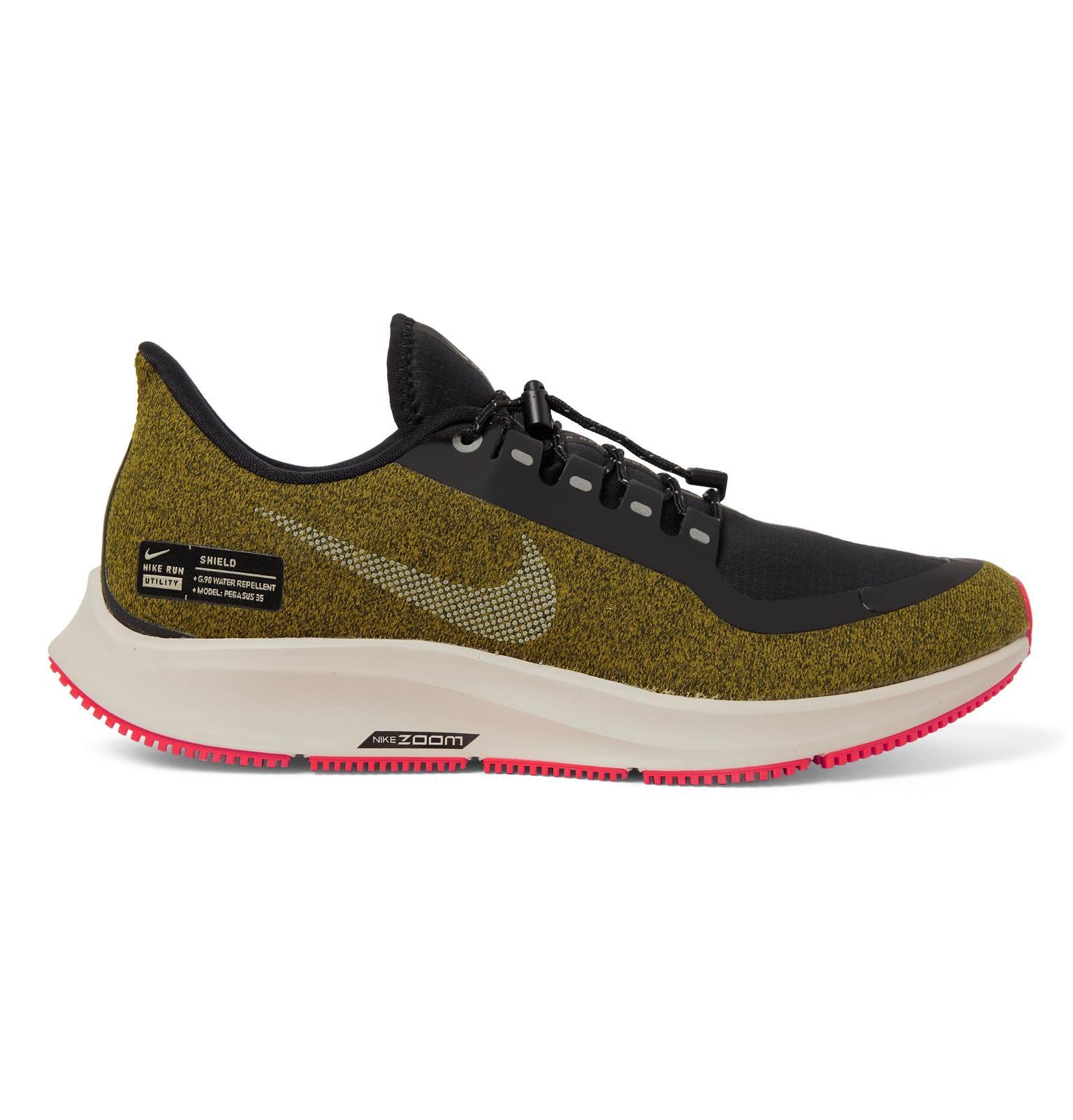 a573474c64e13 Lyst - Nike Air Zoom Pegasus 35 Shield Water-repellent Sneakers in ...