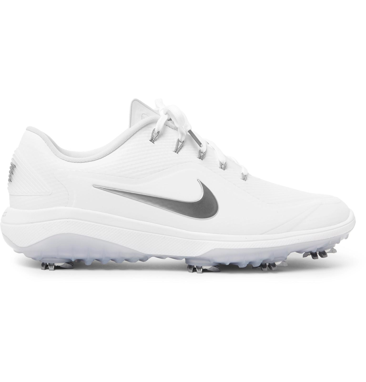 0df09559946 Lyst - Nike React Vapor 2 Coated-mesh Golf Shoes in White for Men