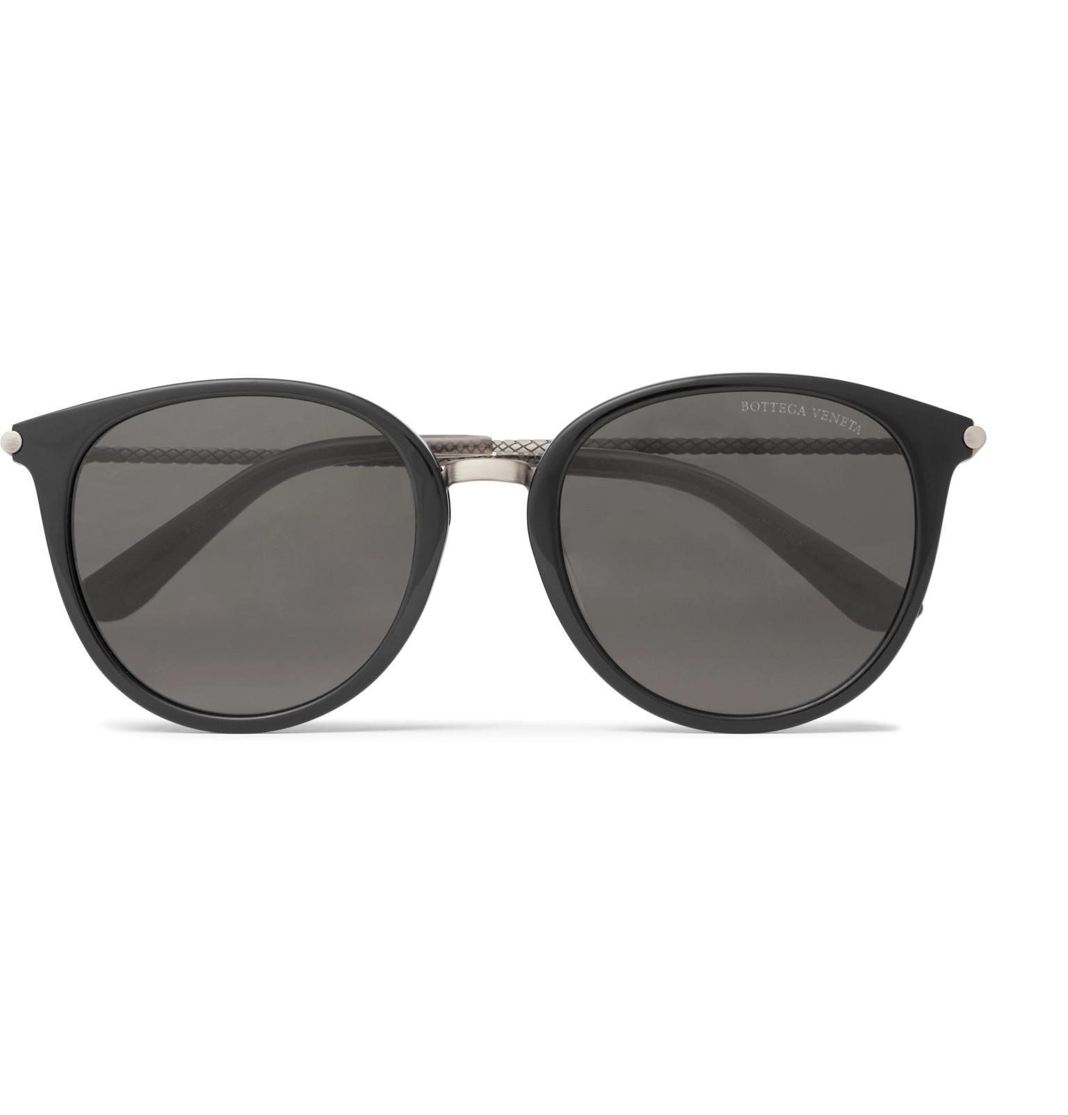 Bottega Veneta Square-frame Tortoiseshell Matte-acetate And Gunmetal-tone Sunglasses - Tortoiseshell XqX4GAL2j