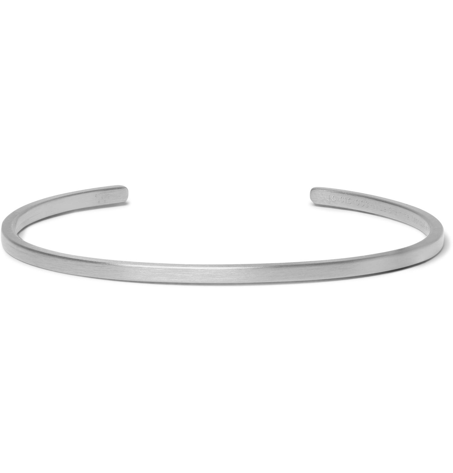 Le Gramme Le 7 Brushed Ruthenium-plated Sterling Silver Cuff - Black Xyciq6