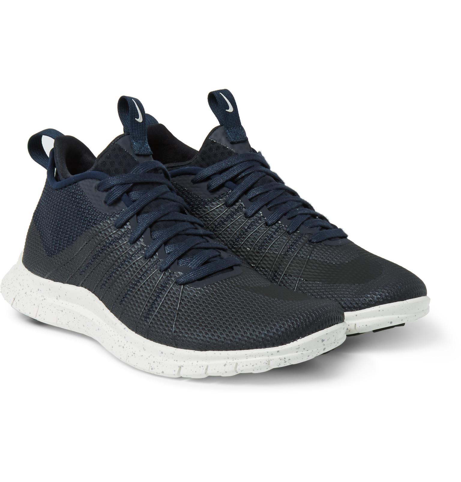 844e95796642 Nike Free Hypervenom 2 Fs Coated Mesh Sneakers in Black for Men - Lyst