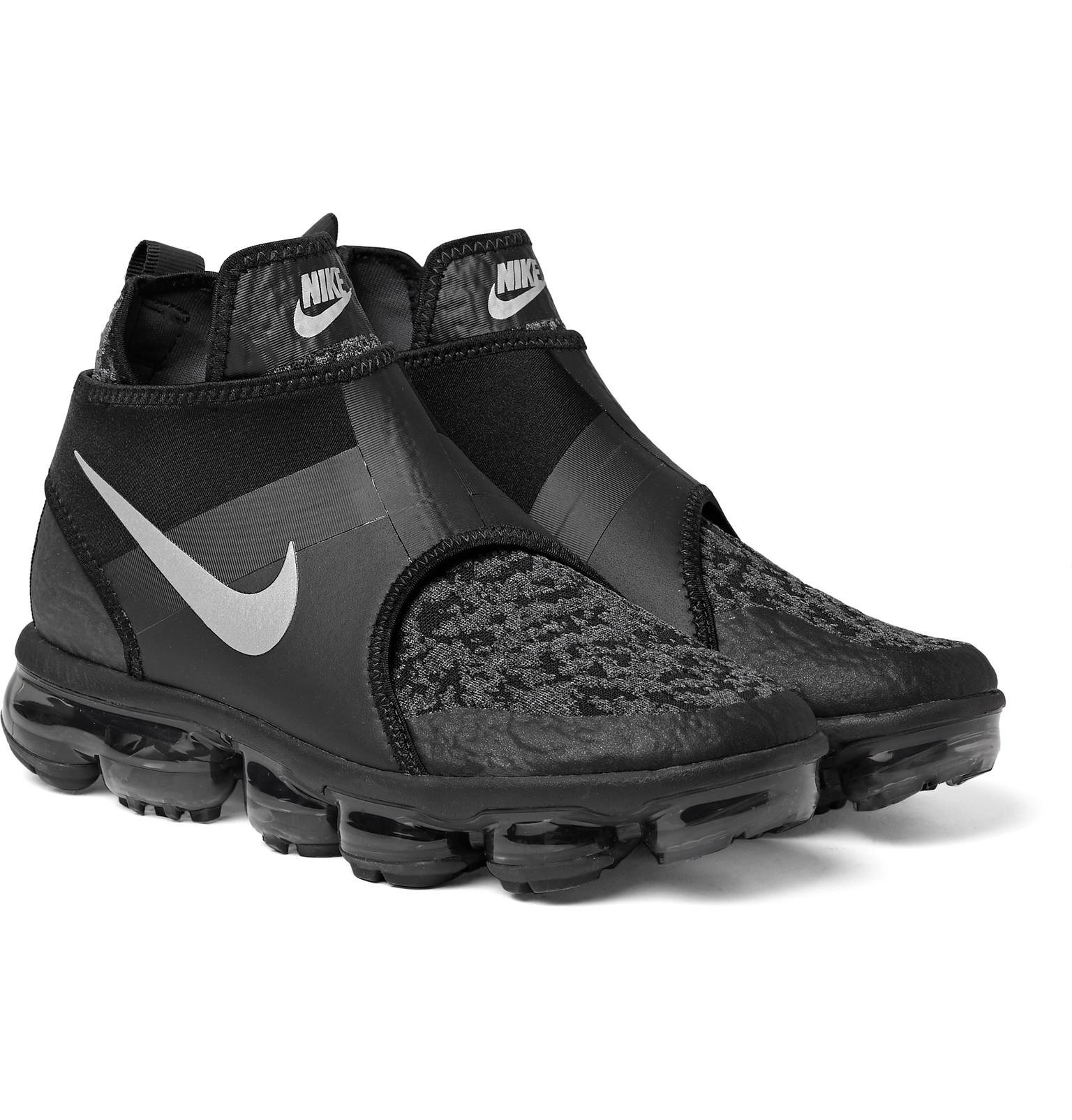 Chukka Black Vapormax Vente Neoprene And Slip Air Sneakers Mesh Nike RE4qwR