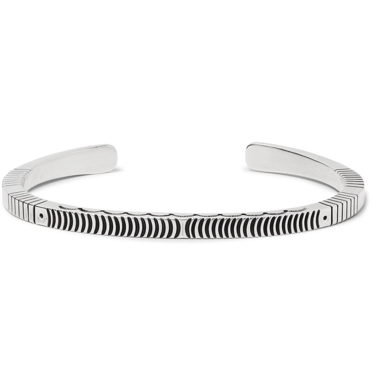 8339e456b8b Peyote Bird Sterling Silver Cuff in Metallic for Men - Lyst