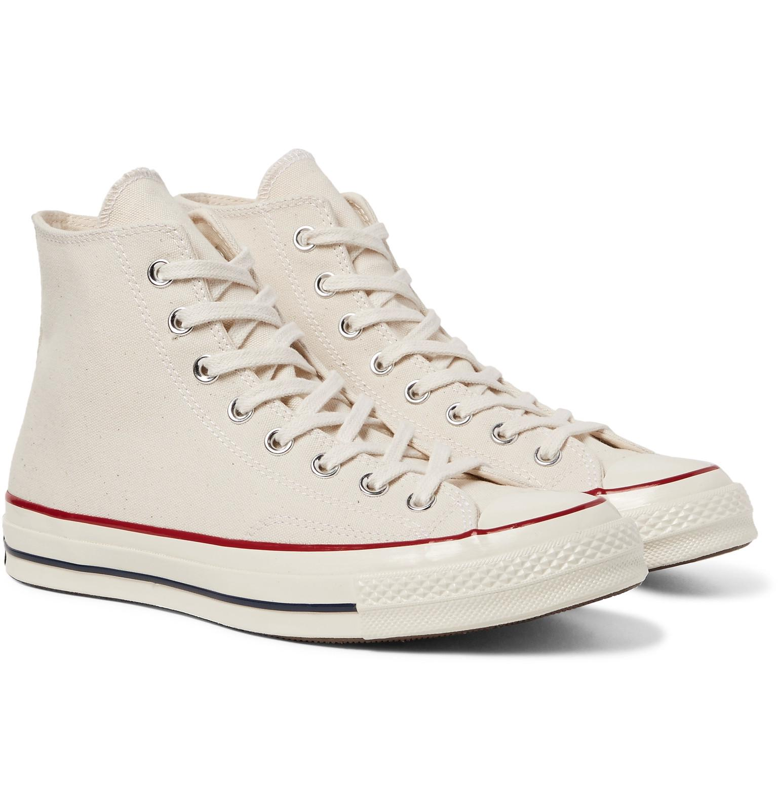 + Dr Woo 1970s Chuck Taylor All Star Embroidered Canvas High-top Sneakers - Off-whiteConverse zoi8Ux