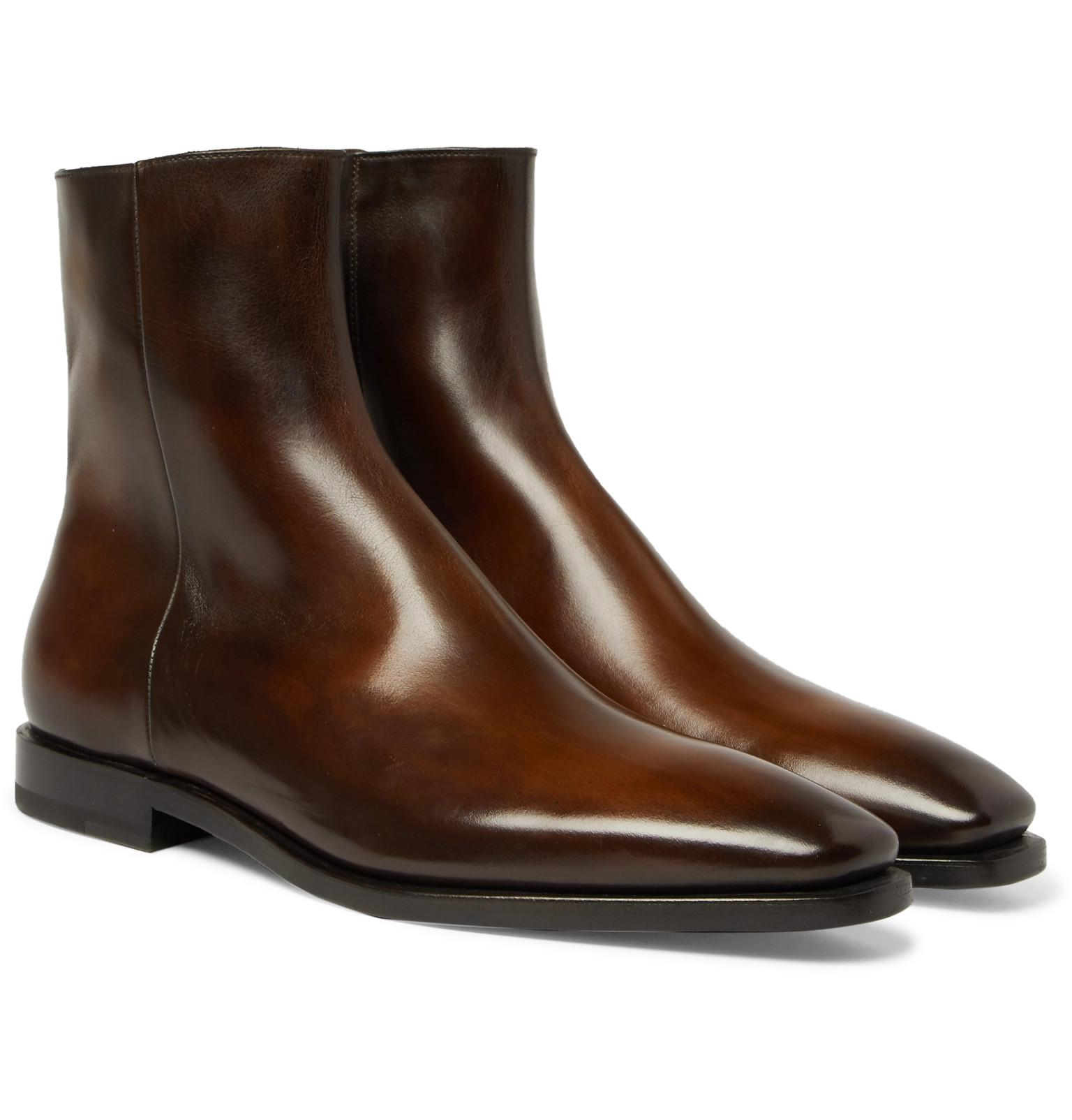 with credit card cheap price Berluti Leather-Trimmed Suede Chelsea Boots geniue stockist cheap price buy cheap genuine xvnQWb