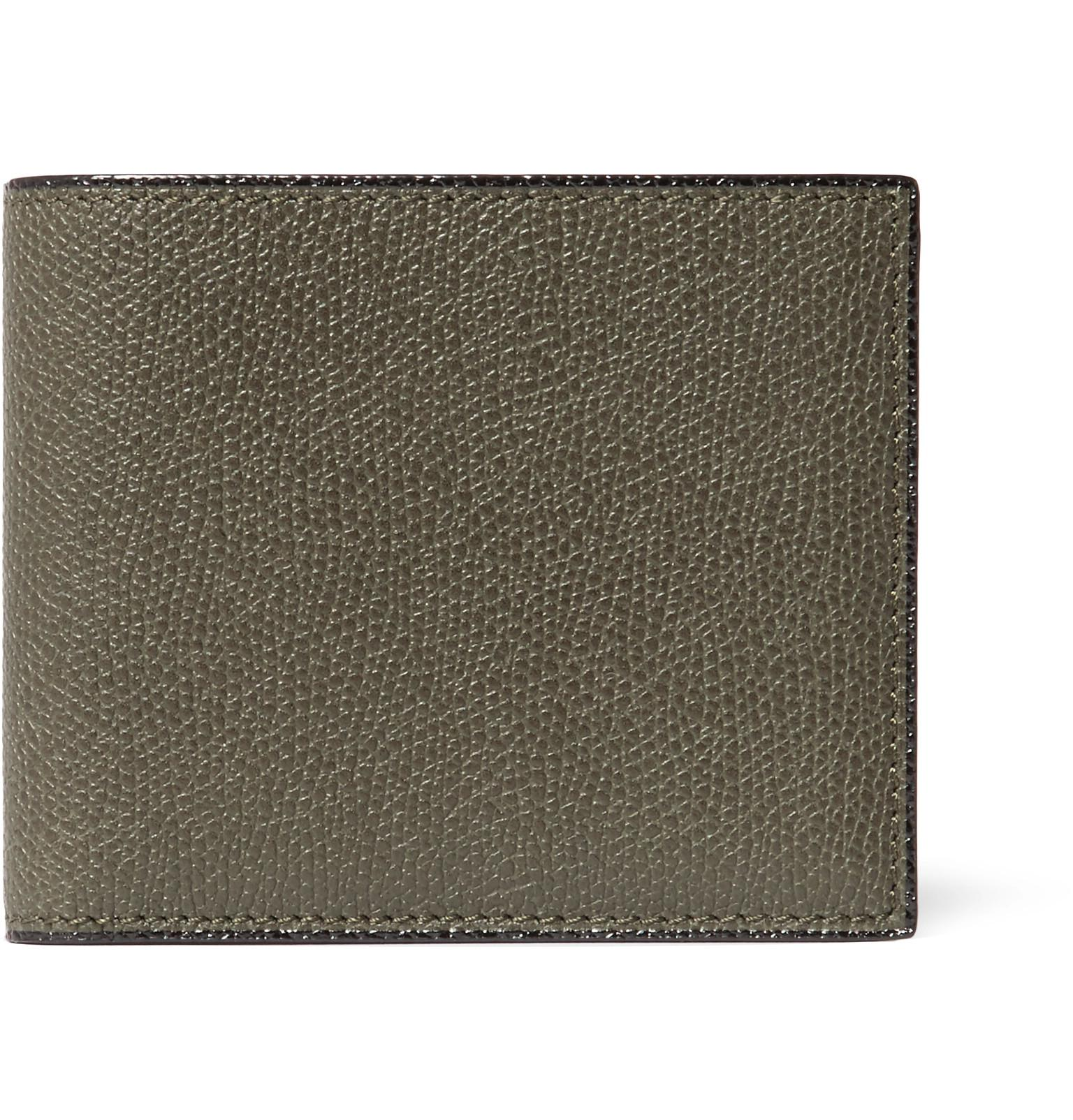 Outlet Big Sale VALEXTRA Pebble-grain Leather Billfold Wallet Clearance Purchase Visit New Cheap Price Genuine 487uqhd7Vp