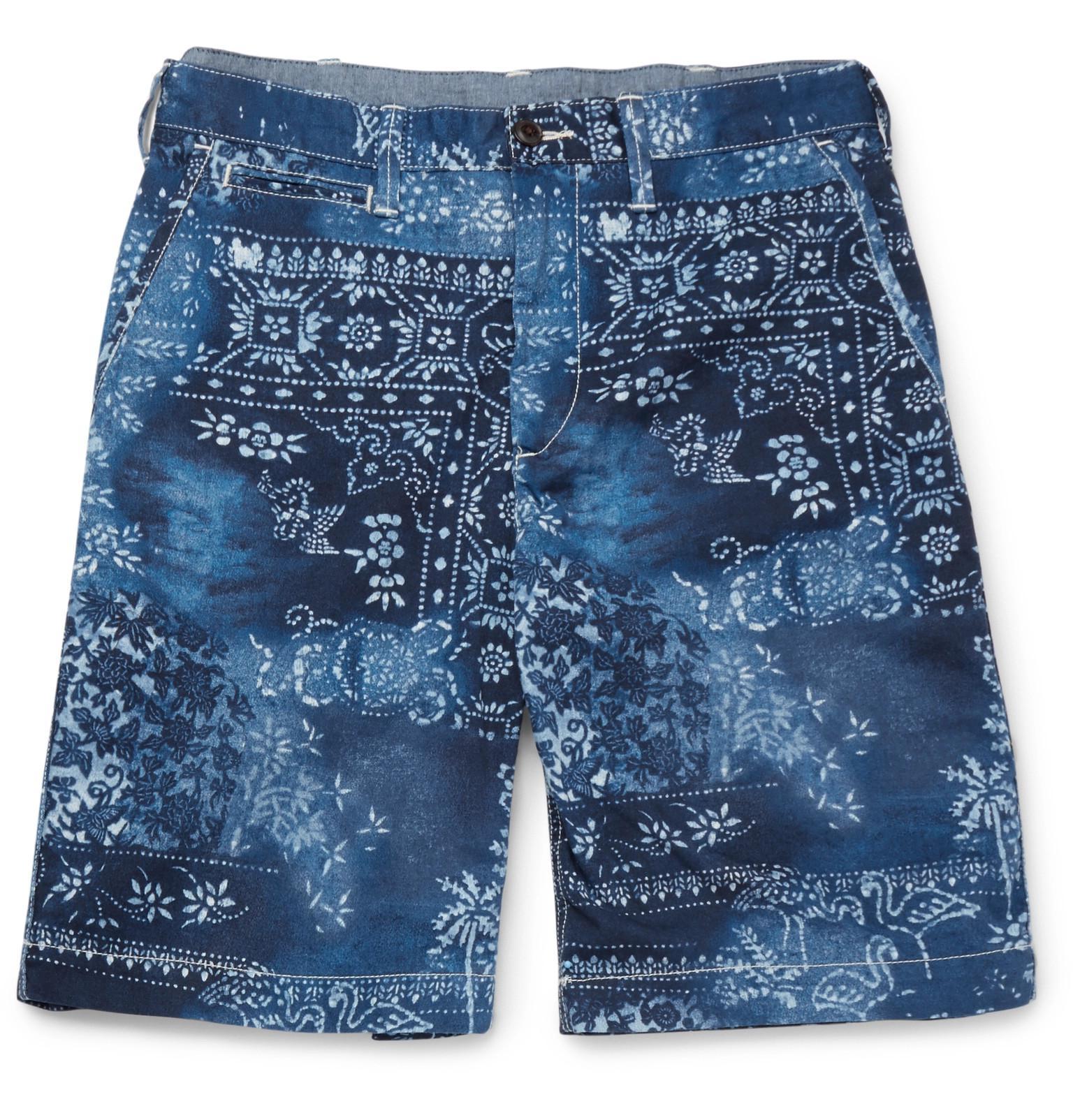Bandana-print Cotton-twill Shorts Polo Ralph Lauren FROXws